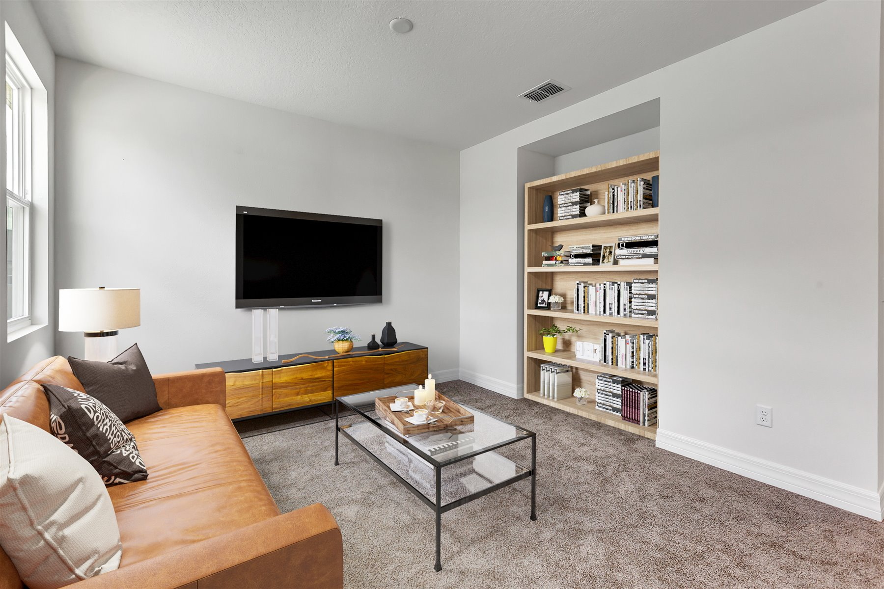 Newport Plan Loft at Meridian Parks in Orlando Florida by Mattamy Homes
