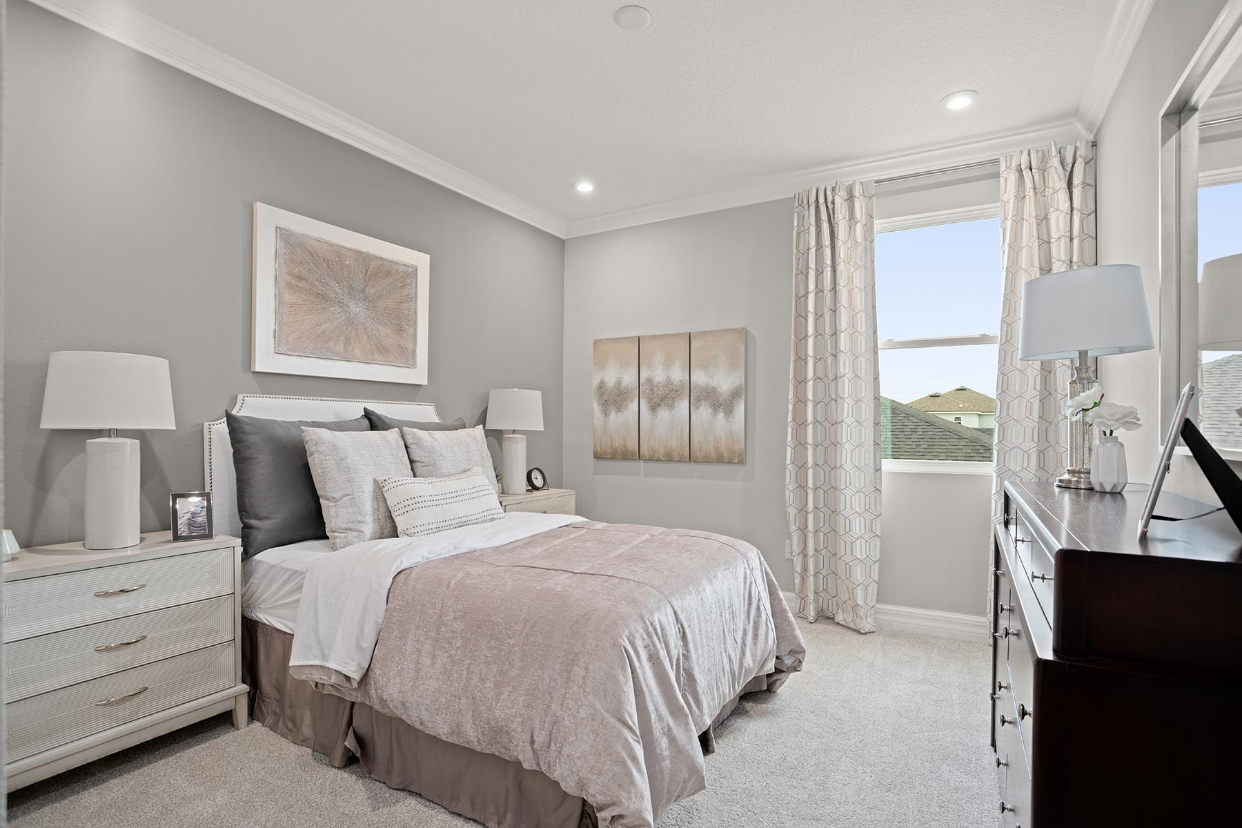 Winthrop Plan Bedroom at Tapestry in Kissimmee Florida by Mattamy Homes
