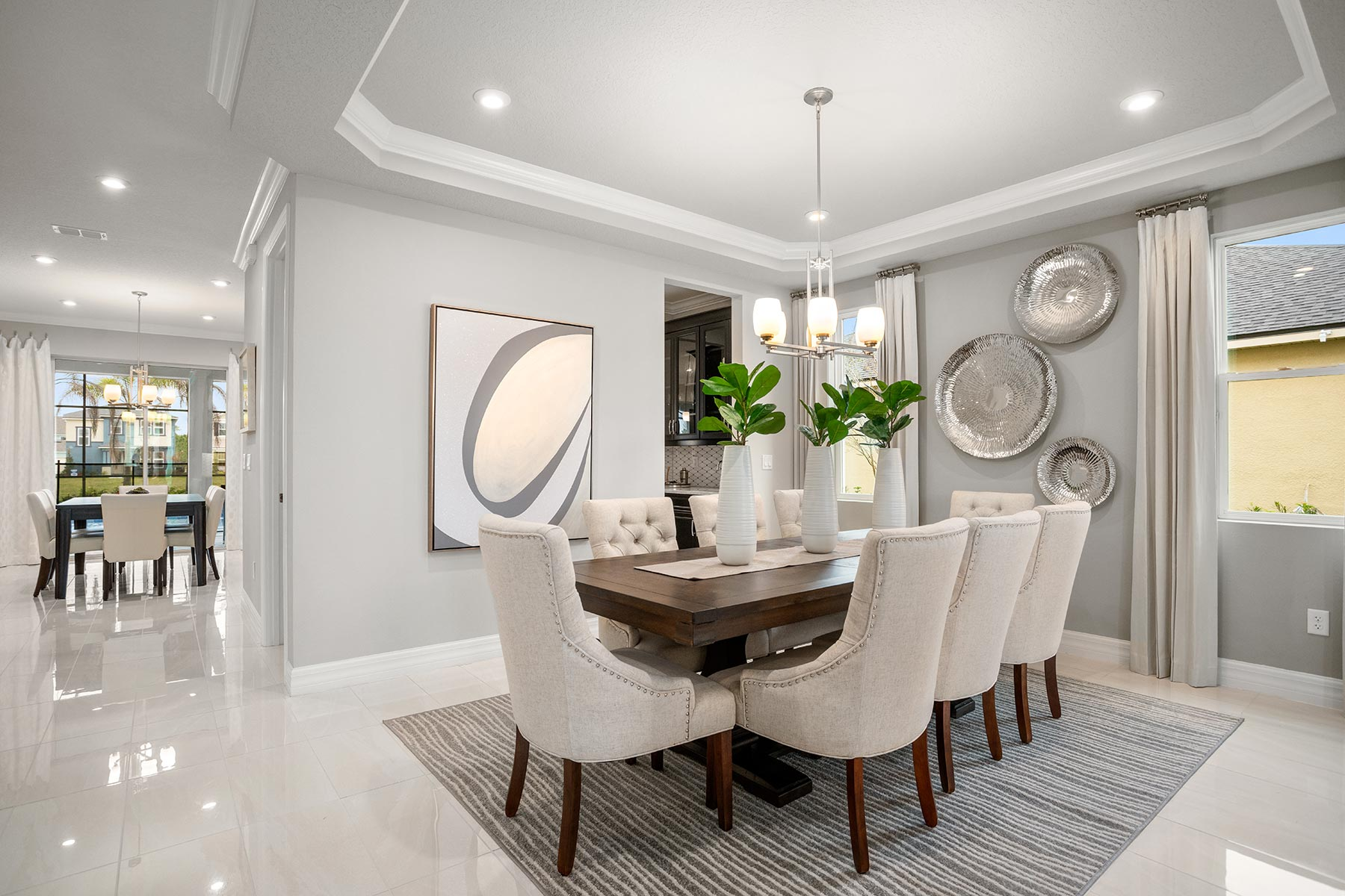 Winthrop Plan Dining at Tapestry in Kissimmee Florida by Mattamy Homes