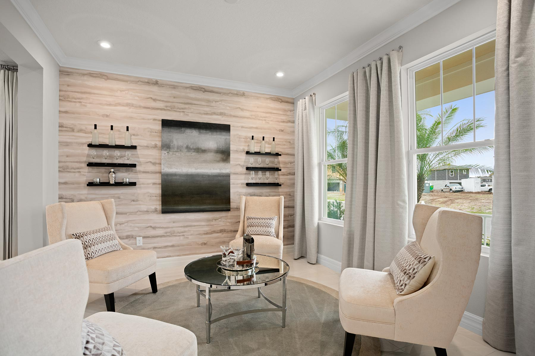 Winthrop Plan Recreation Room at Tapestry in Kissimmee Florida by Mattamy Homes