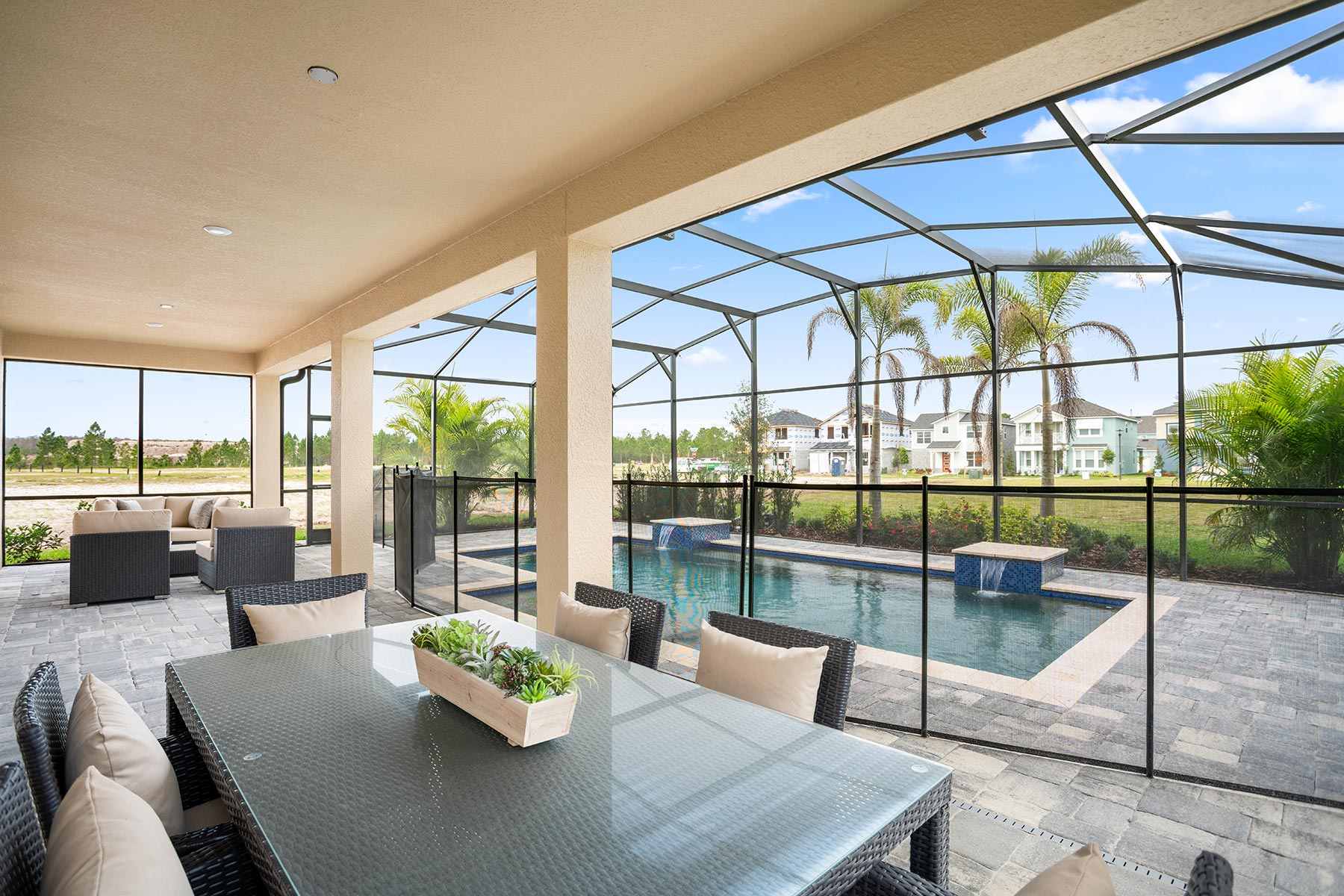 Meridian Parks Patio in Orlando Florida by Mattamy Homes