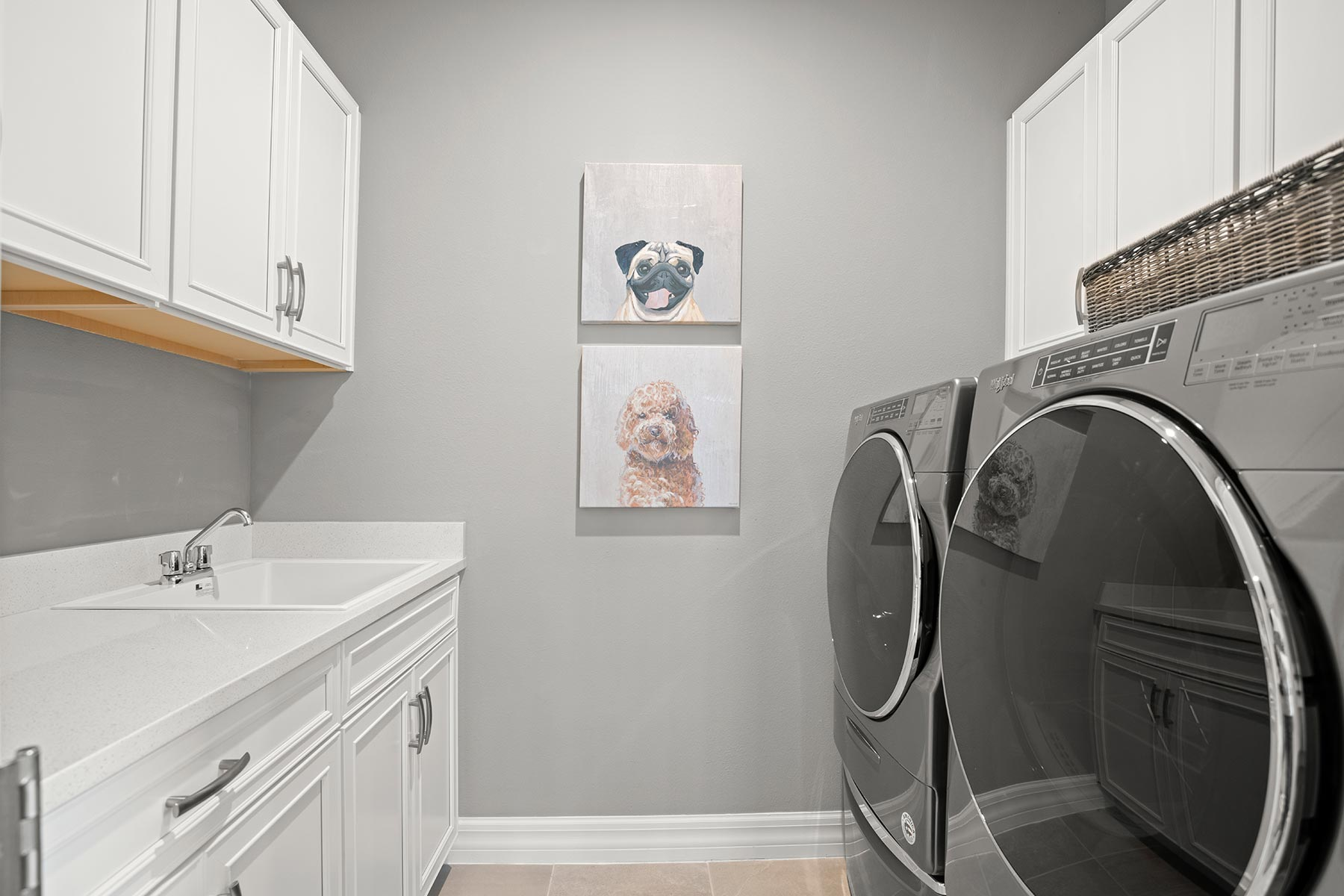 Winthrop Plan Laundry at Tapestry in Kissimmee Florida by Mattamy Homes