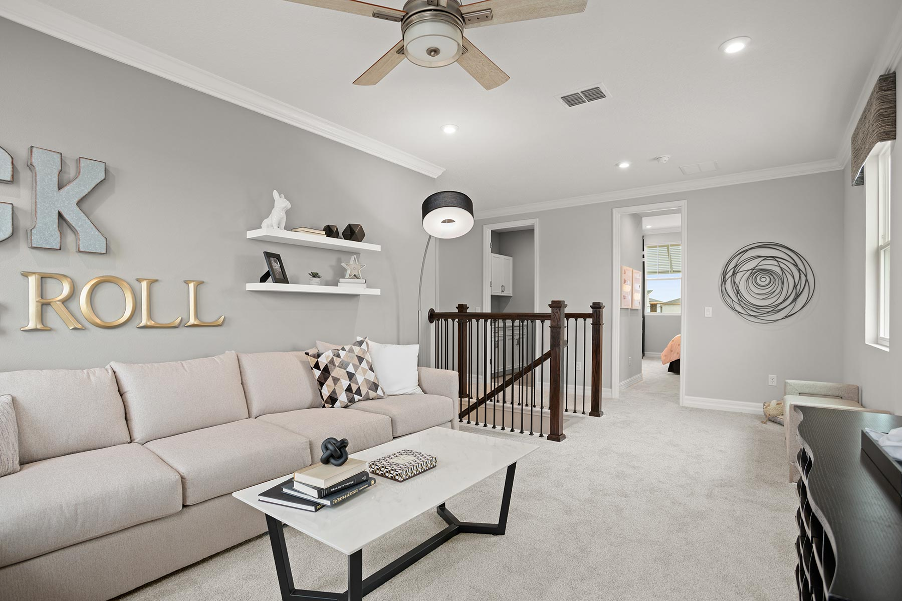 Winthrop Plan Loft at Tapestry in Kissimmee Florida by Mattamy Homes