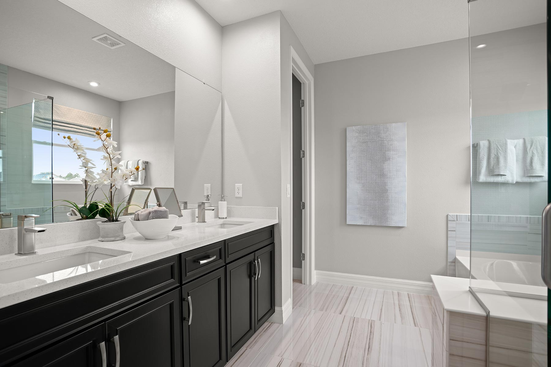 Winthrop Plan Bathroom_Master Bath at Tapestry in Kissimmee Florida by Mattamy Homes