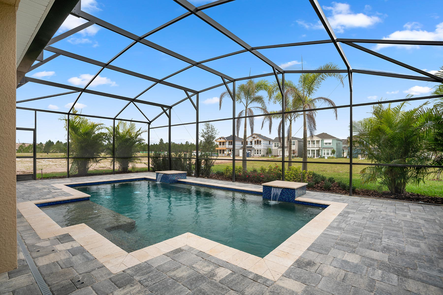 Winthrop Plan WaterFeatures at Tapestry in Kissimmee Florida by Mattamy Homes