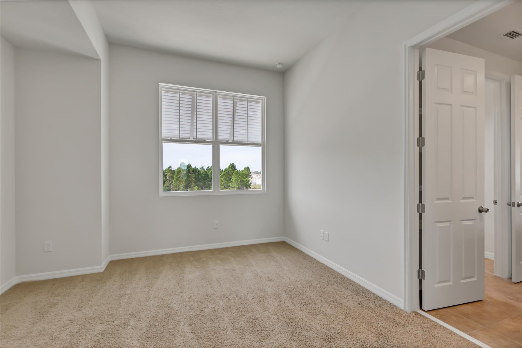 Winthrop Plan Bedroom at Meridian Parks in Orlando Florida by Mattamy Homes