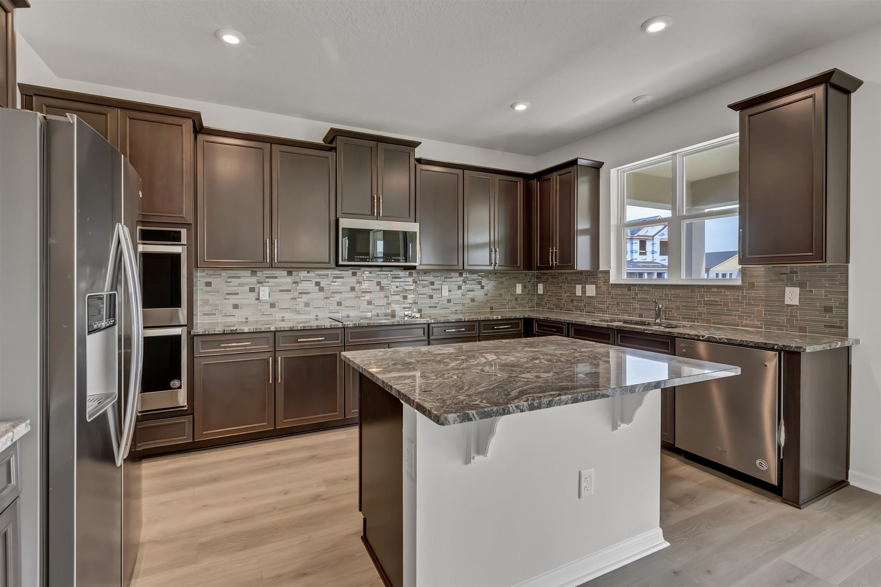 Winthrop Plan Kitchen at Meridian Parks in Orlando Florida by Mattamy Homes