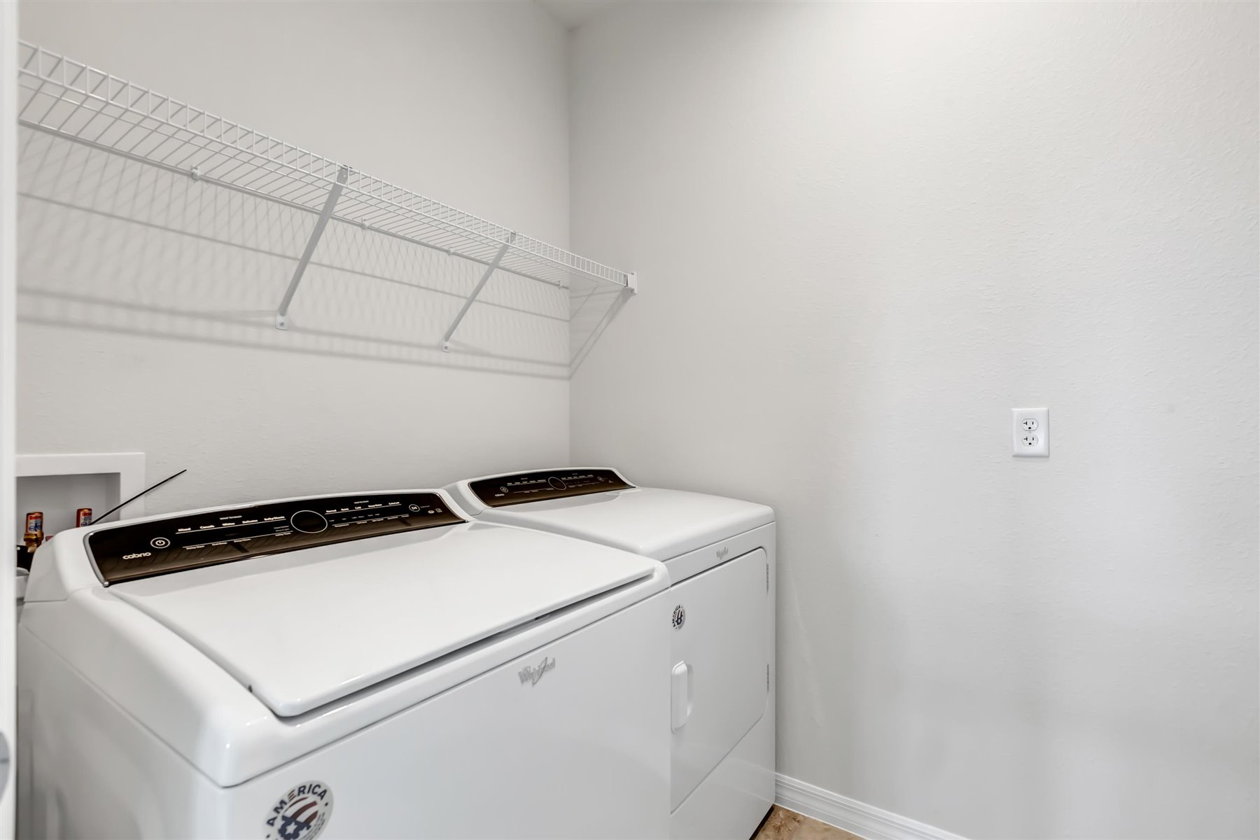 Winthrop Plan Laundry at Meridian Parks in Orlando Florida by Mattamy Homes