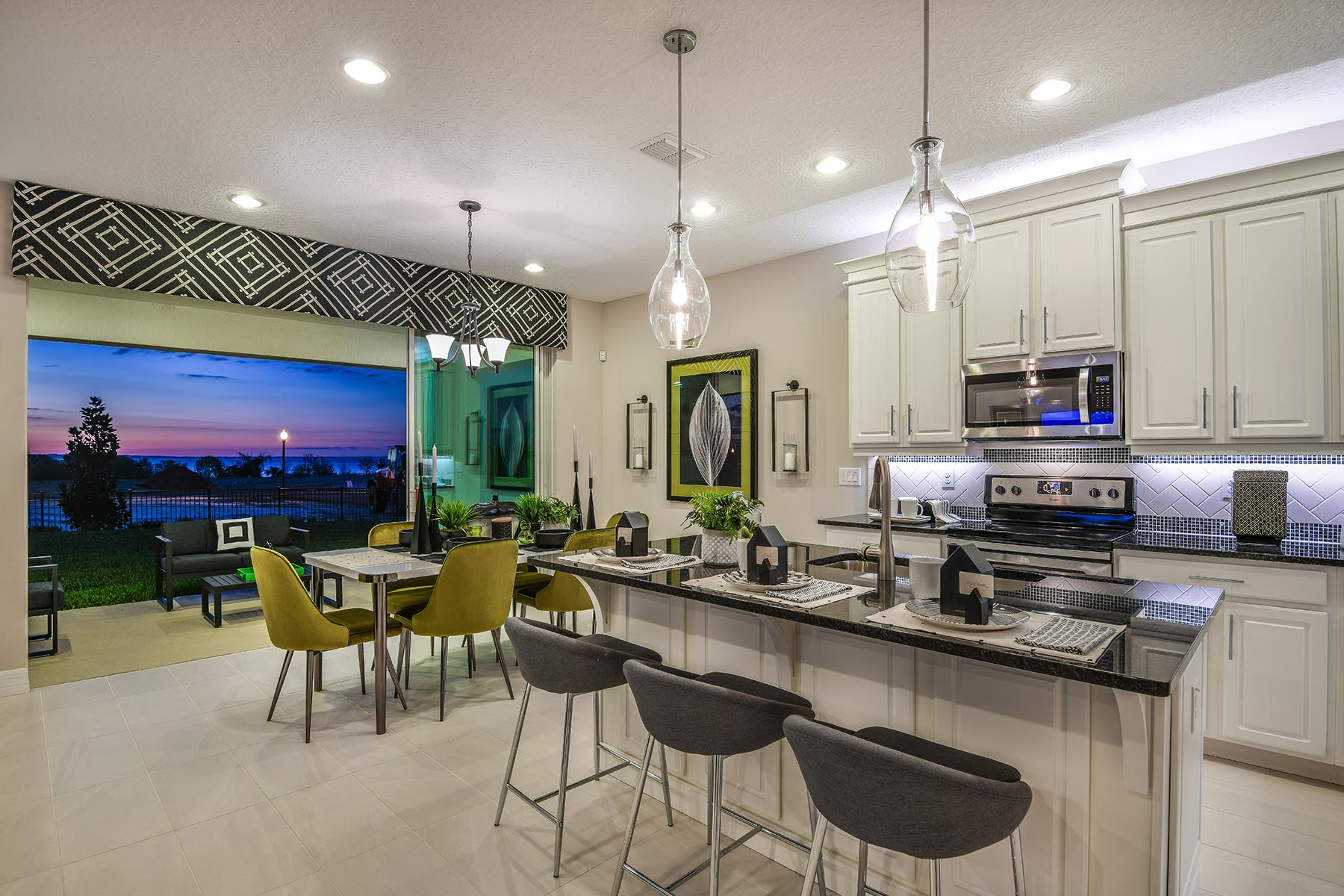 Preserve at Crown Point Kitchen in Ocoee Florida by Mattamy Homes