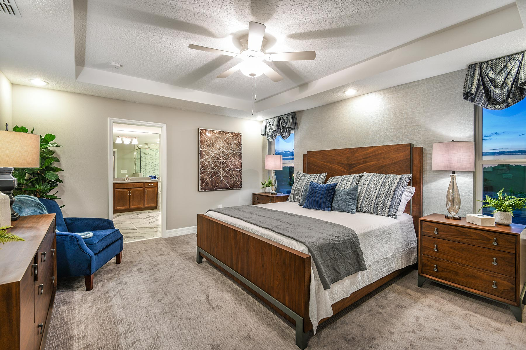 Preserve at Crown Point Bedroom in Ocoee Florida by Mattamy Homes