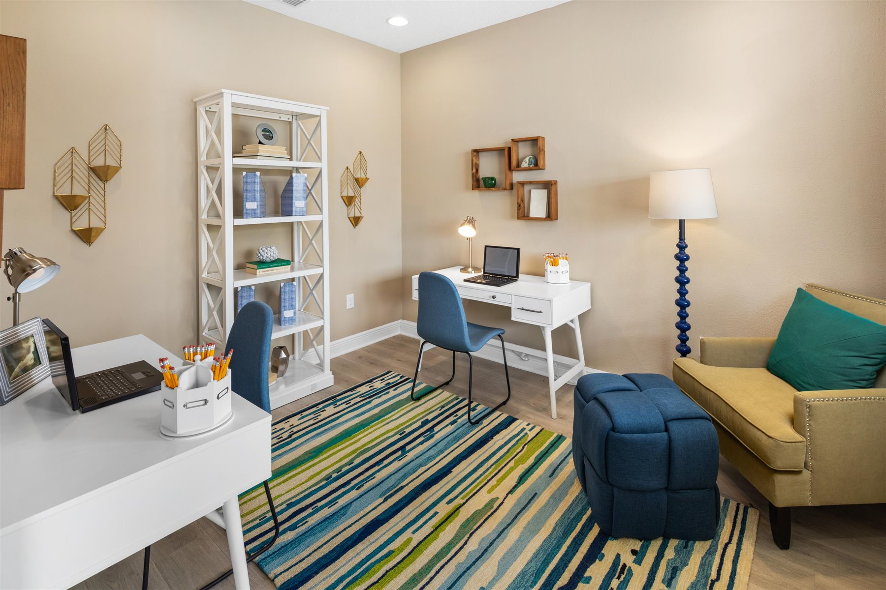 Avondale Plan Study Room at Tohoqua in Kissimmee Florida by Mattamy Homes