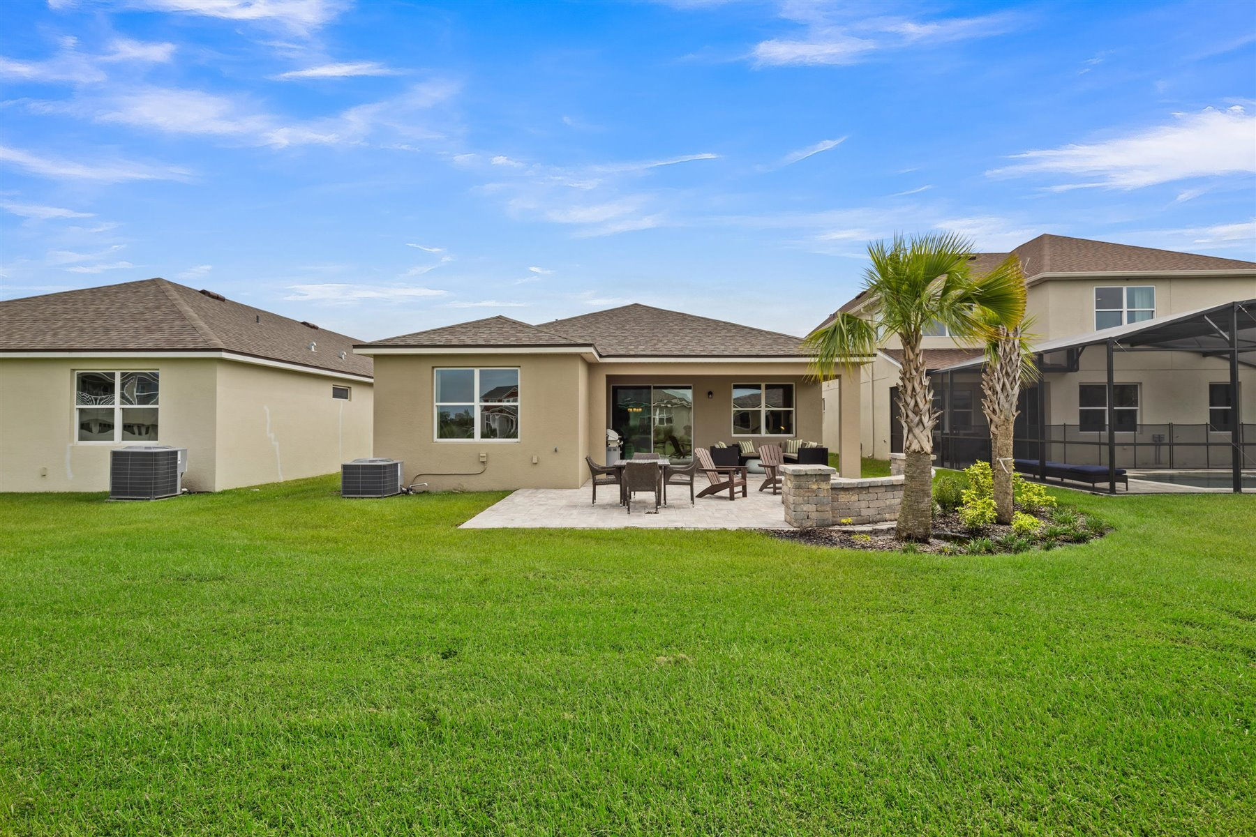 Avondale Plan Elevation Back Side at Tohoqua in Kissimmee Florida by Mattamy Homes