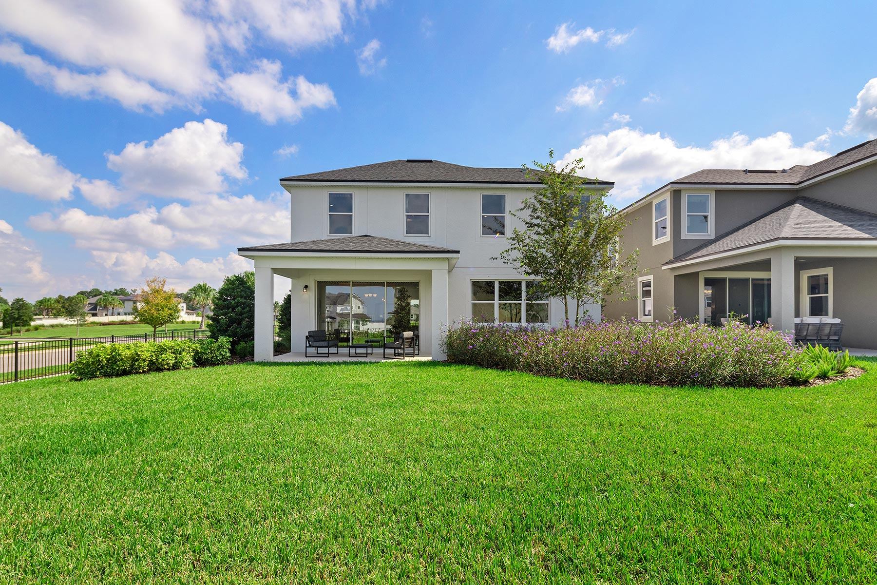 Campbell Plan Elevation Back Side at Tohoqua in Kissimmee Florida by Mattamy Homes