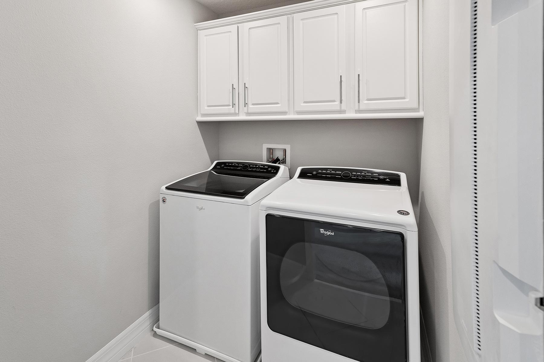Campbell Plan Laundry at Tohoqua in Kissimmee Florida by Mattamy Homes
