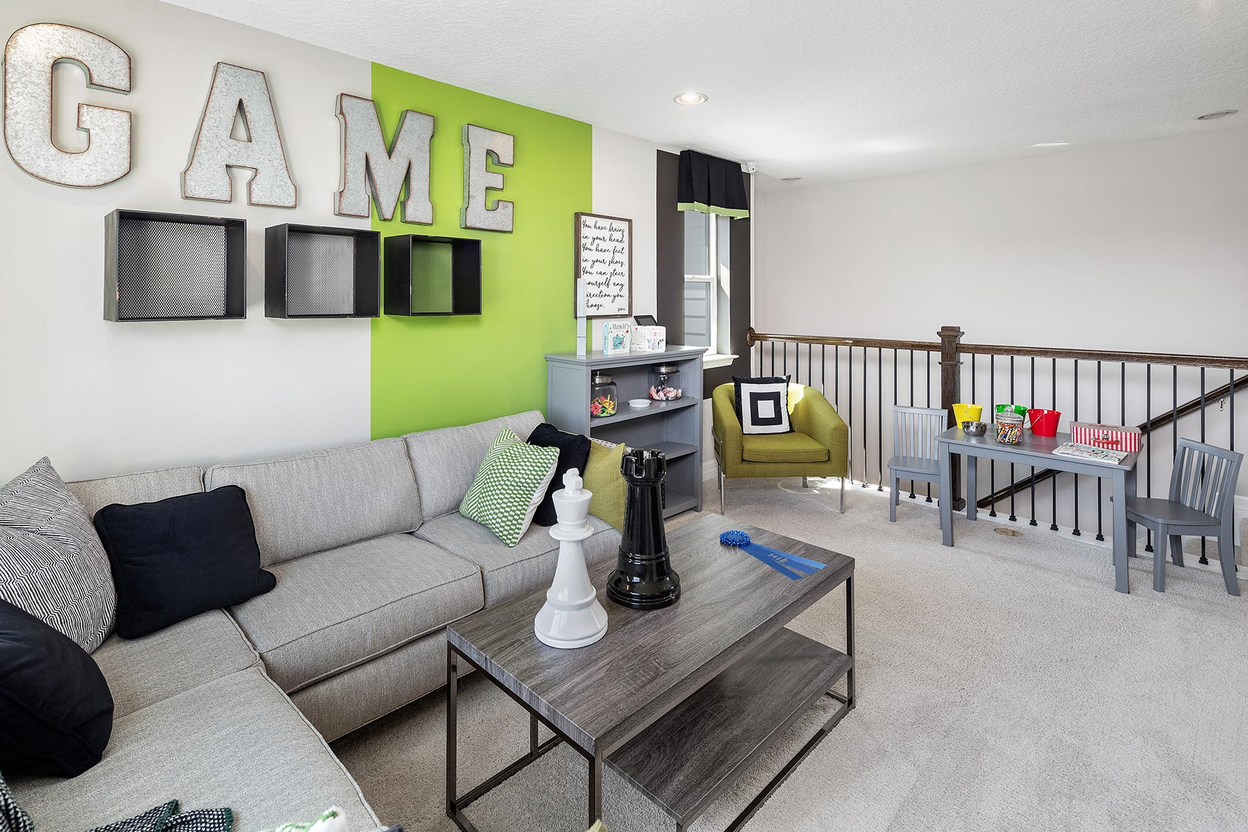 Campbell Plan Recreation Room at Tohoqua in Kissimmee Florida by Mattamy Homes
