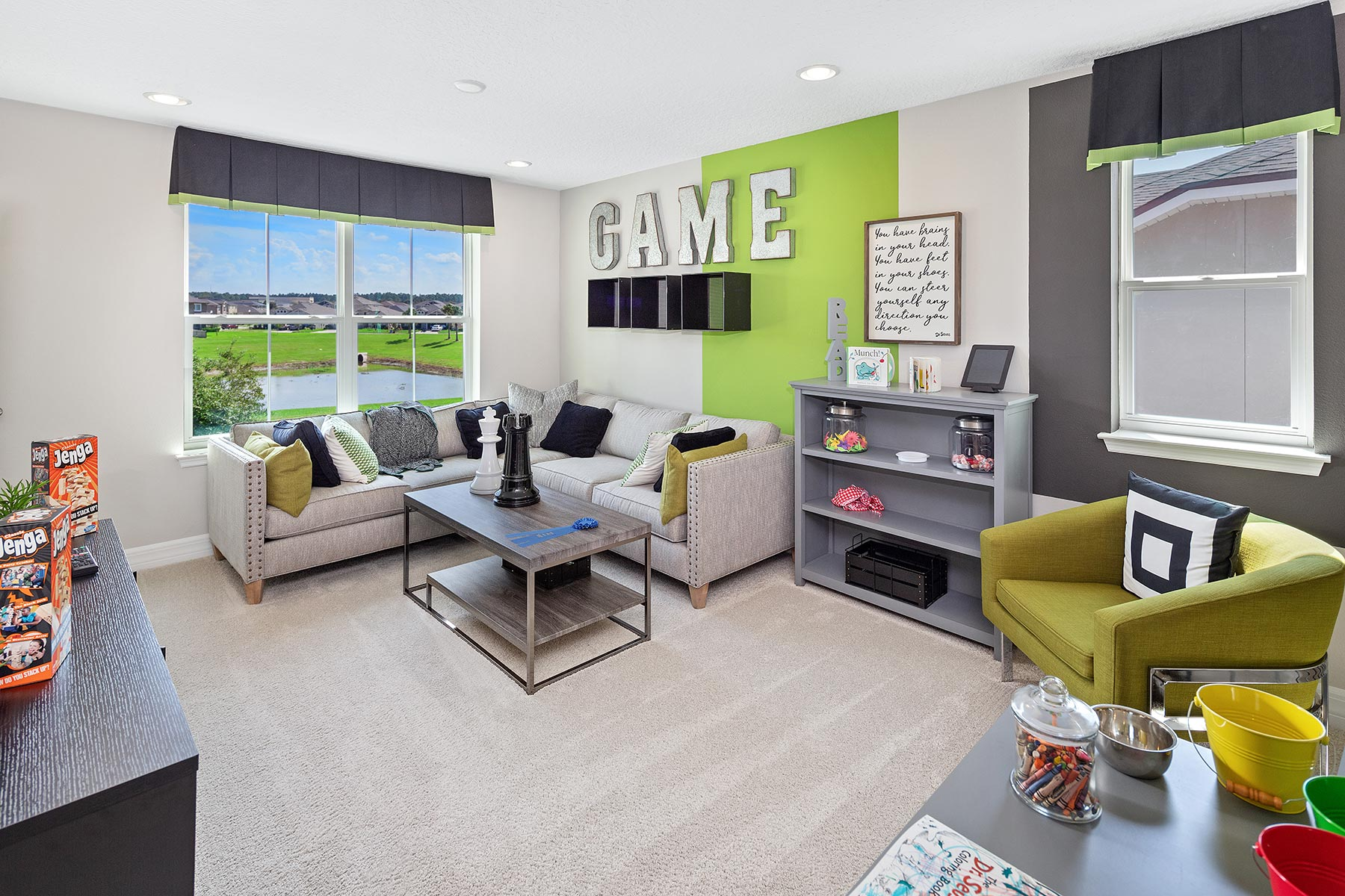 Campbell Plan Loft at Tohoqua in Kissimmee Florida by Mattamy Homes