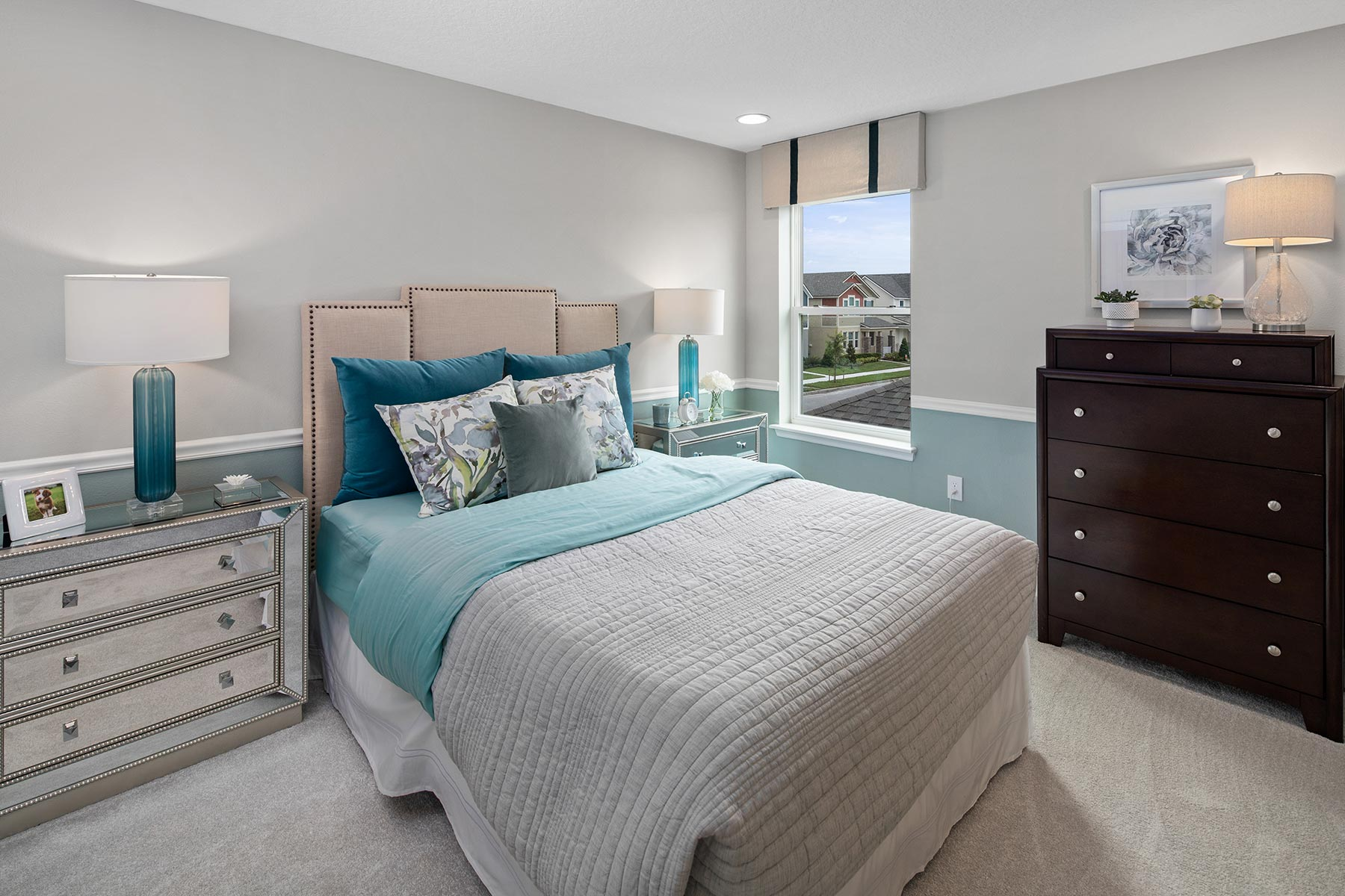 Canon Plan Bedroom at Tohoqua in Kissimmee Florida by Mattamy Homes