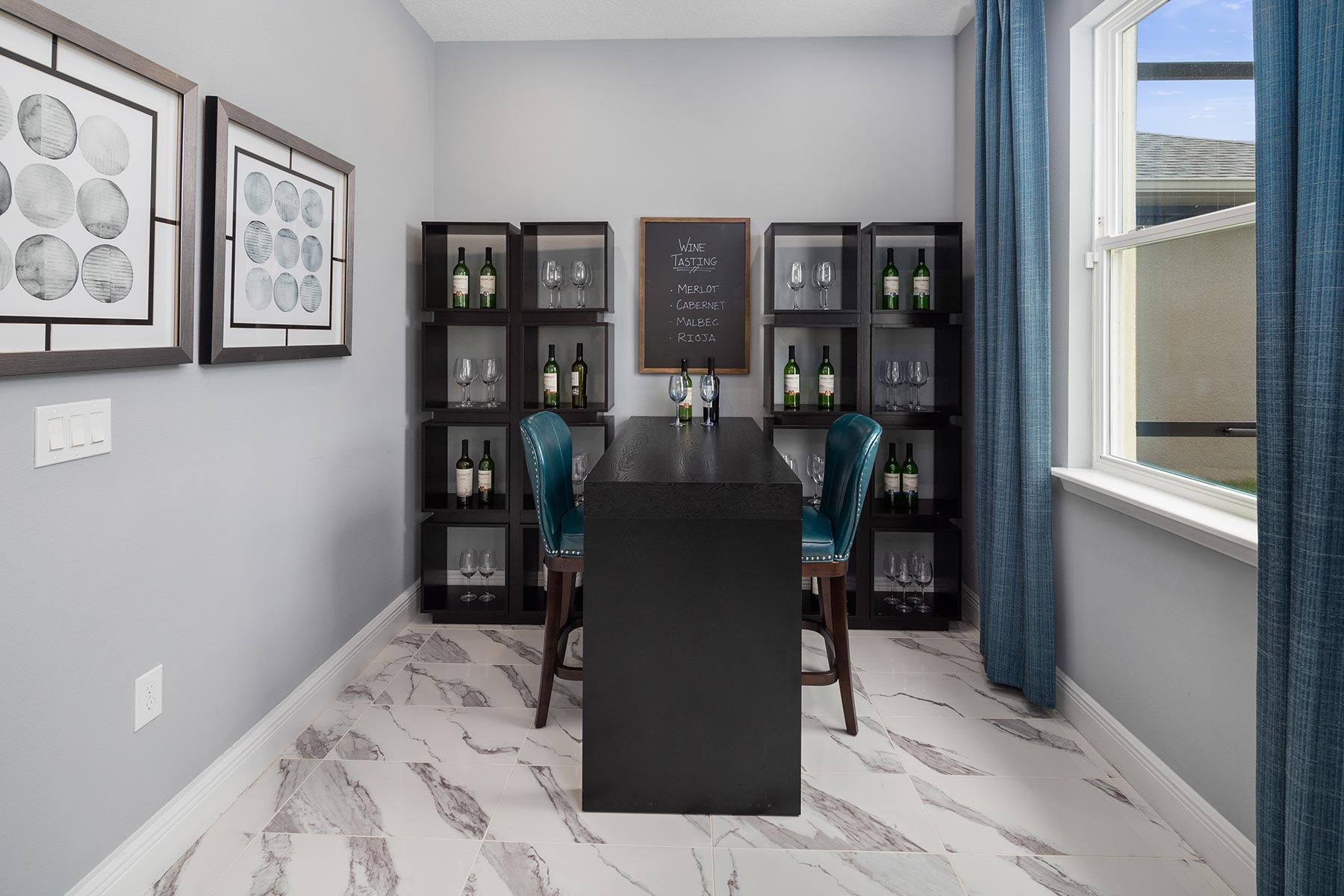 Canon Plan Study Room at Tohoqua in Kissimmee Florida by Mattamy Homes