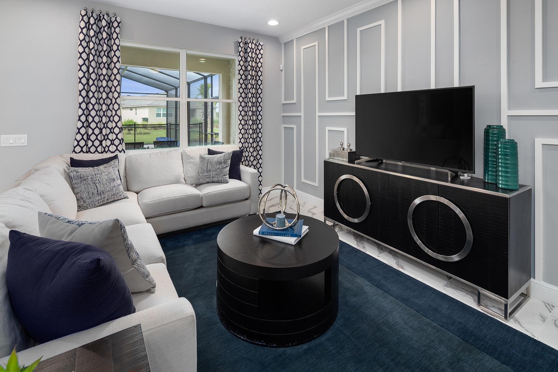 Canon Plan Greatroom at Tohoqua in Kissimmee Florida by Mattamy Homes