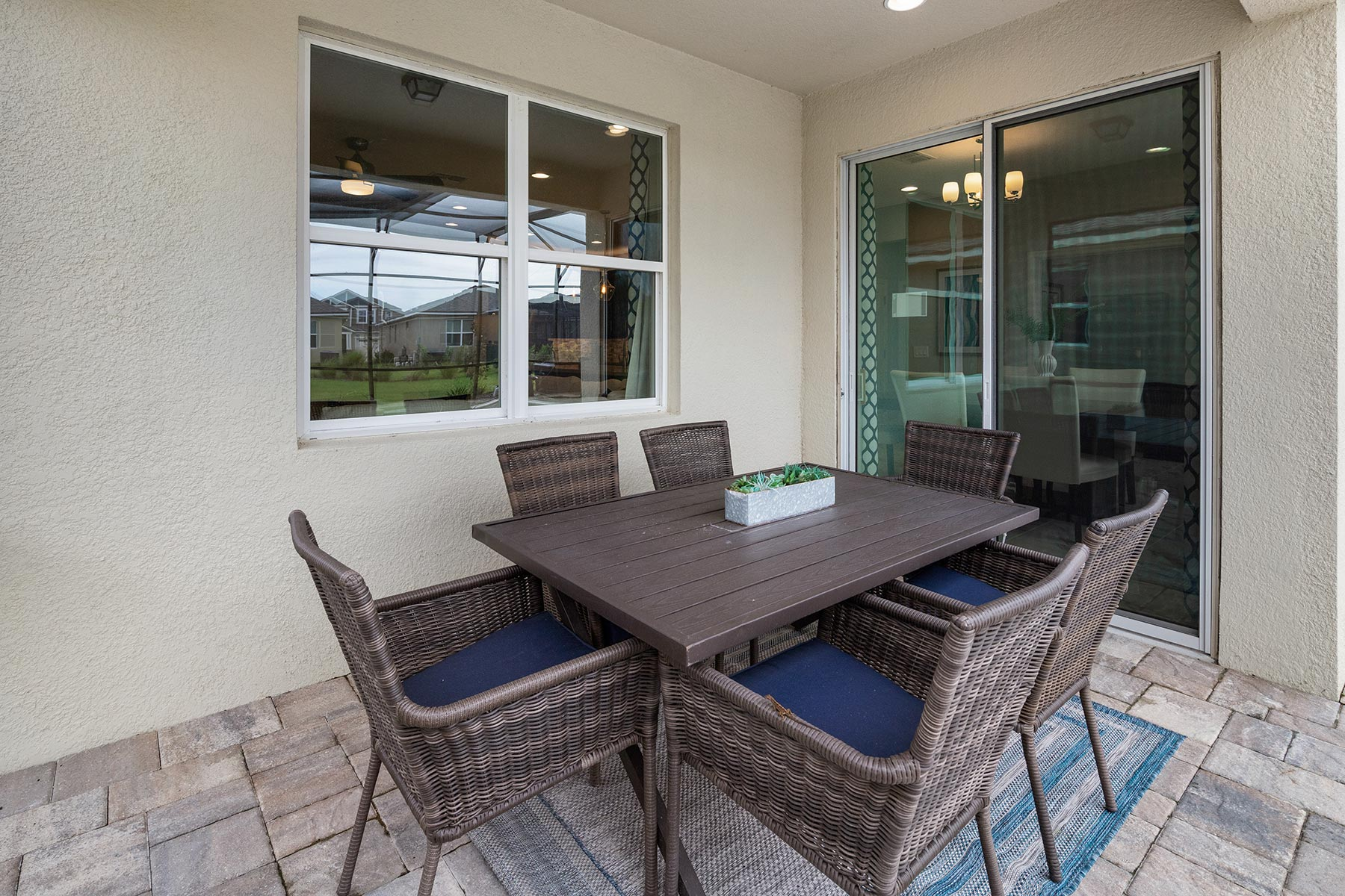 Canon Plan Patio at Tohoqua in Kissimmee Florida by Mattamy Homes