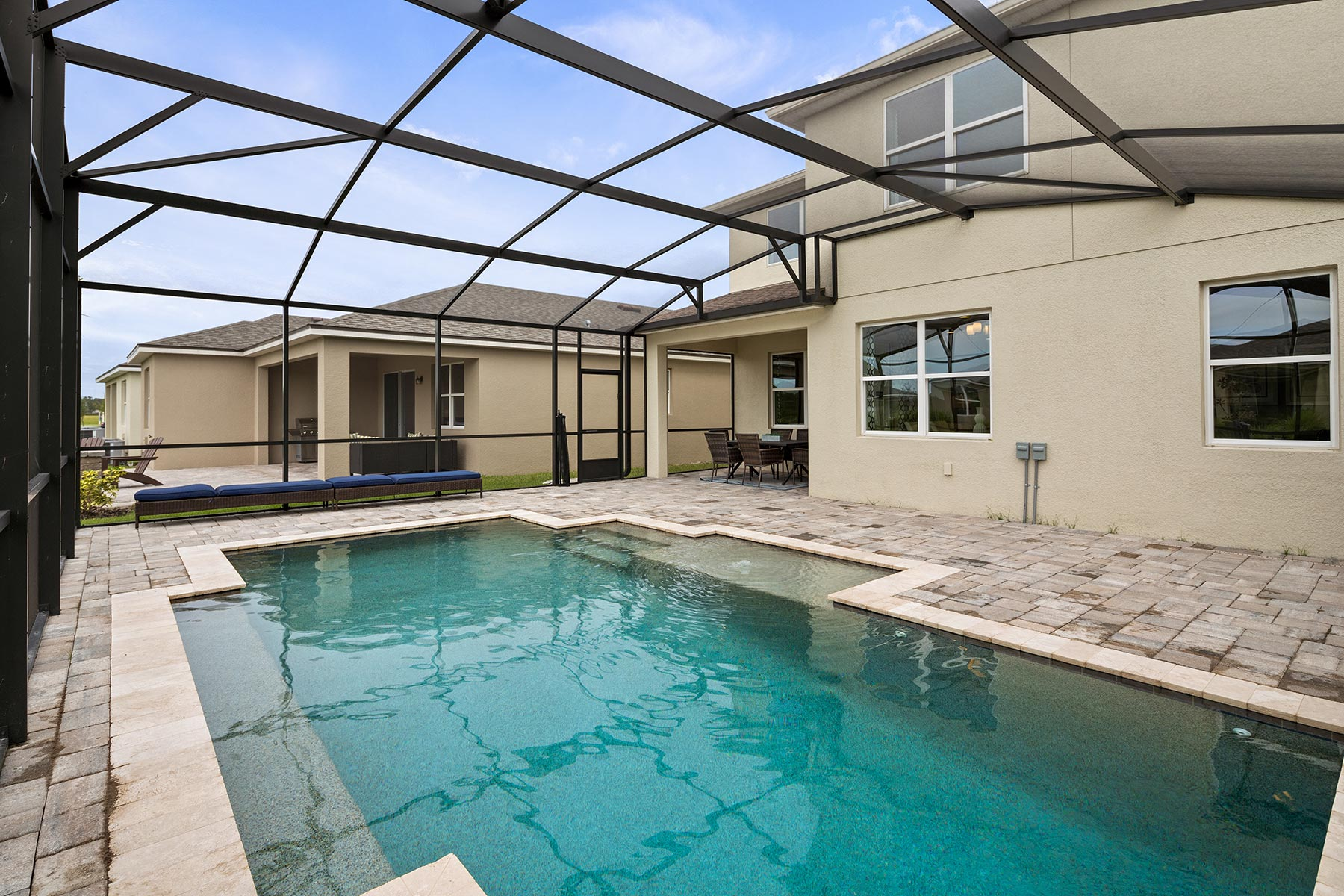 Canon Plan WaterFeatures at Tohoqua in Kissimmee Florida by Mattamy Homes