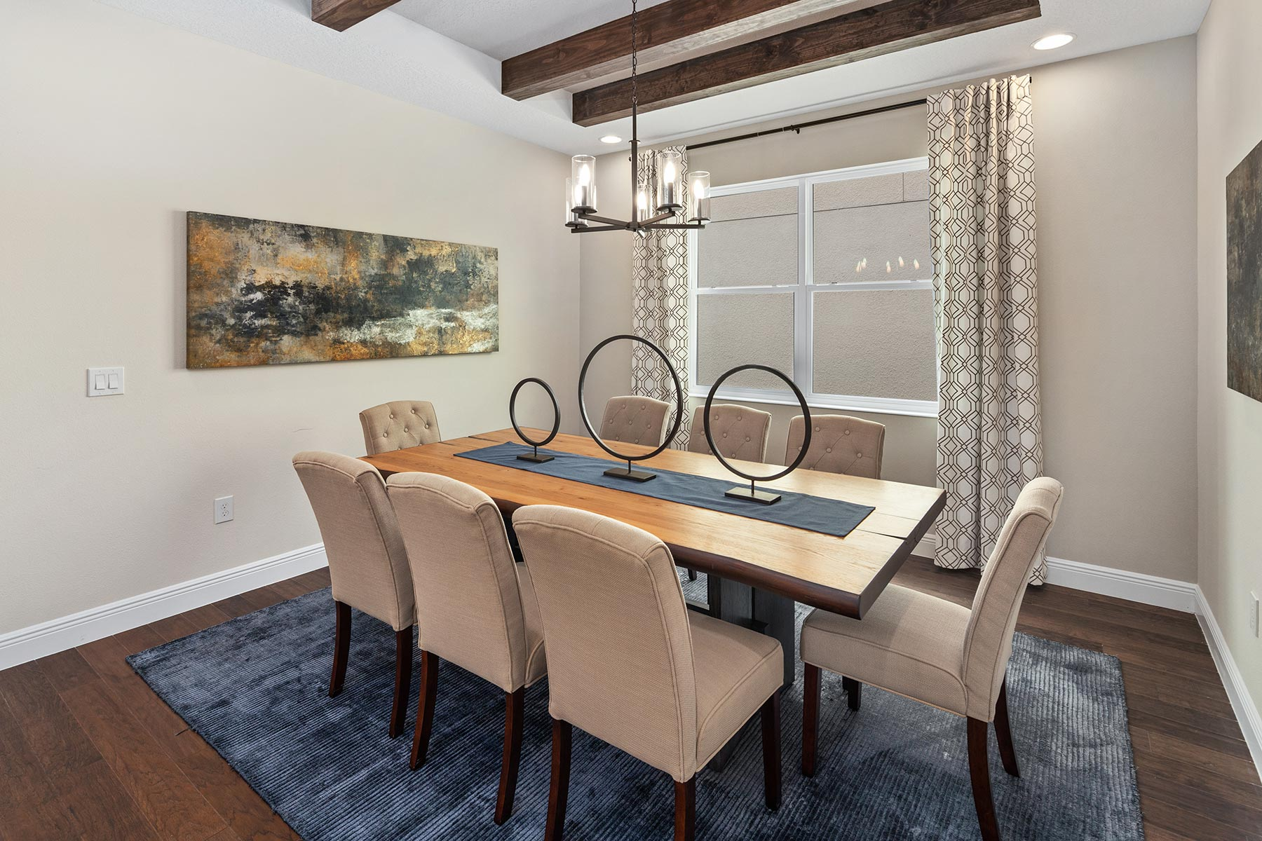 Glendale Plan Dining at Tohoqua in Kissimmee Florida by Mattamy Homes