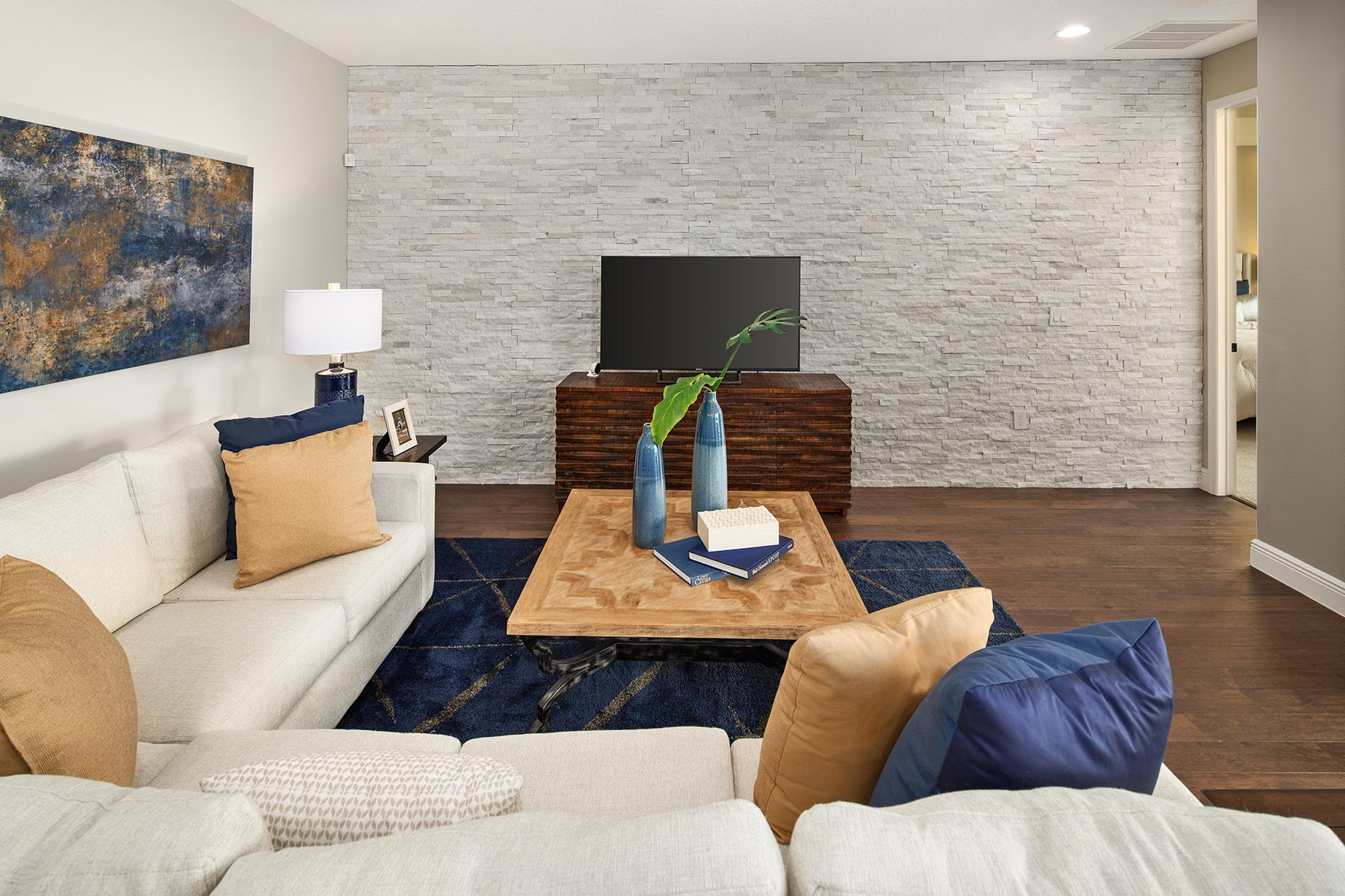 Glendale Plan Greatroom at Tohoqua in Kissimmee Florida by Mattamy Homes