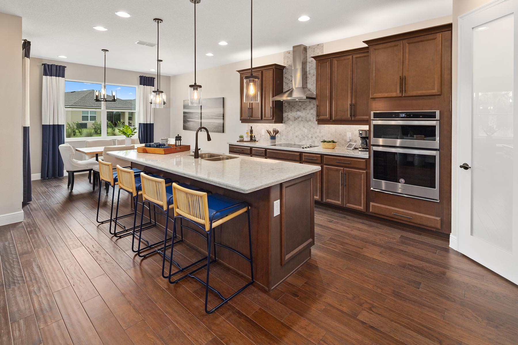 Glendale Plan Kitchen at Tohoqua in Kissimmee Florida by Mattamy Homes