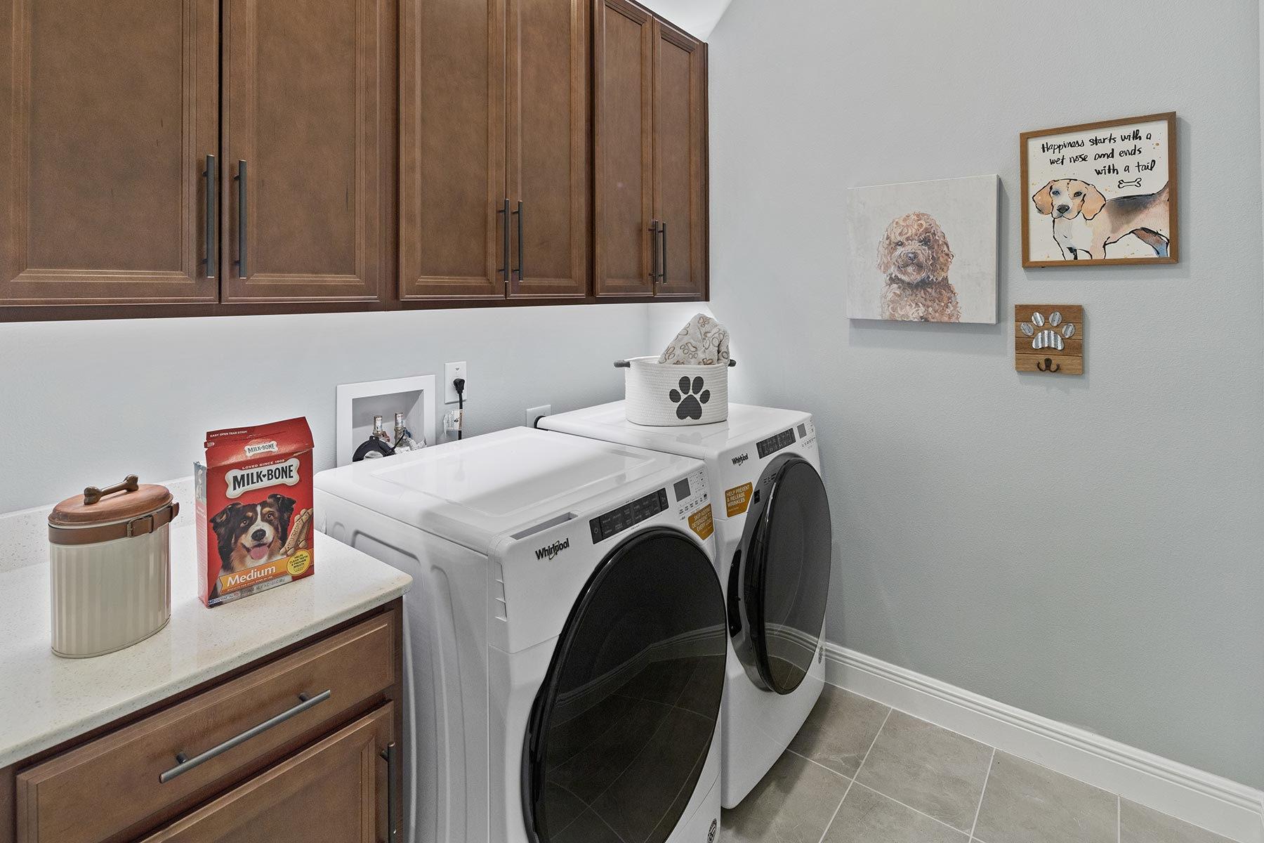 Glendale Plan Laundry at Tohoqua in Kissimmee Florida by Mattamy Homes
