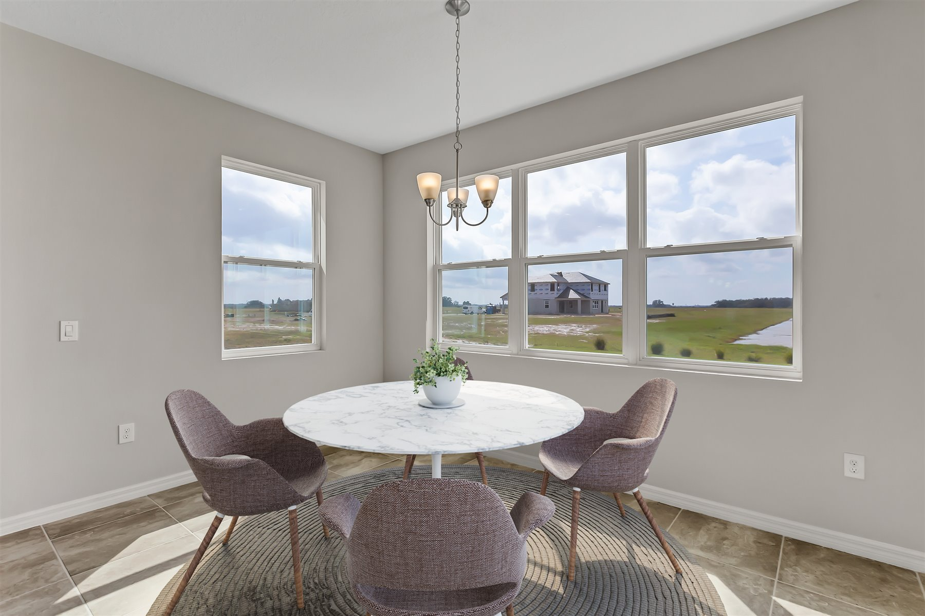 Graham Plan Breakfast at Tohoqua in Kissimmee Florida by Mattamy Homes