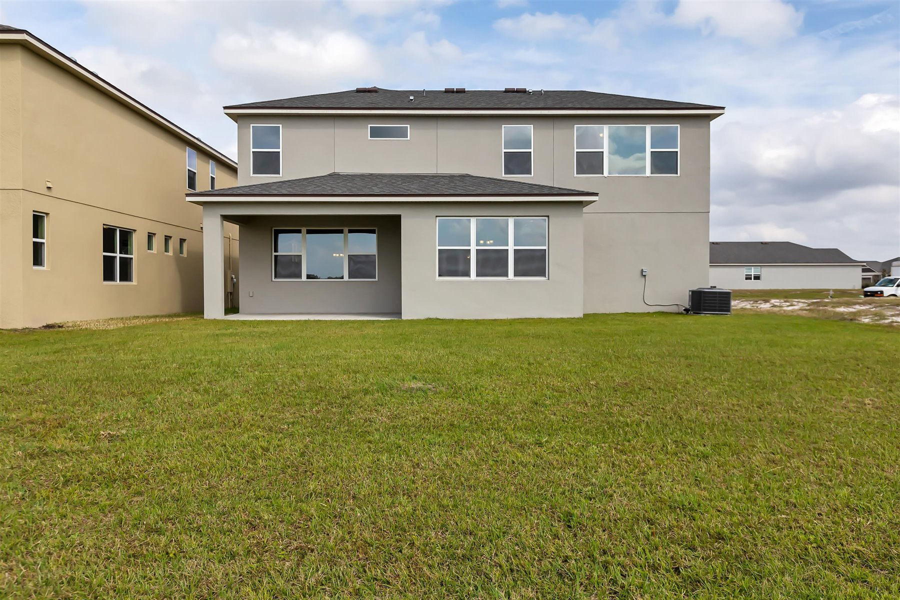 Graham Plan Elevation Back Side at Tohoqua in Kissimmee Florida by Mattamy Homes