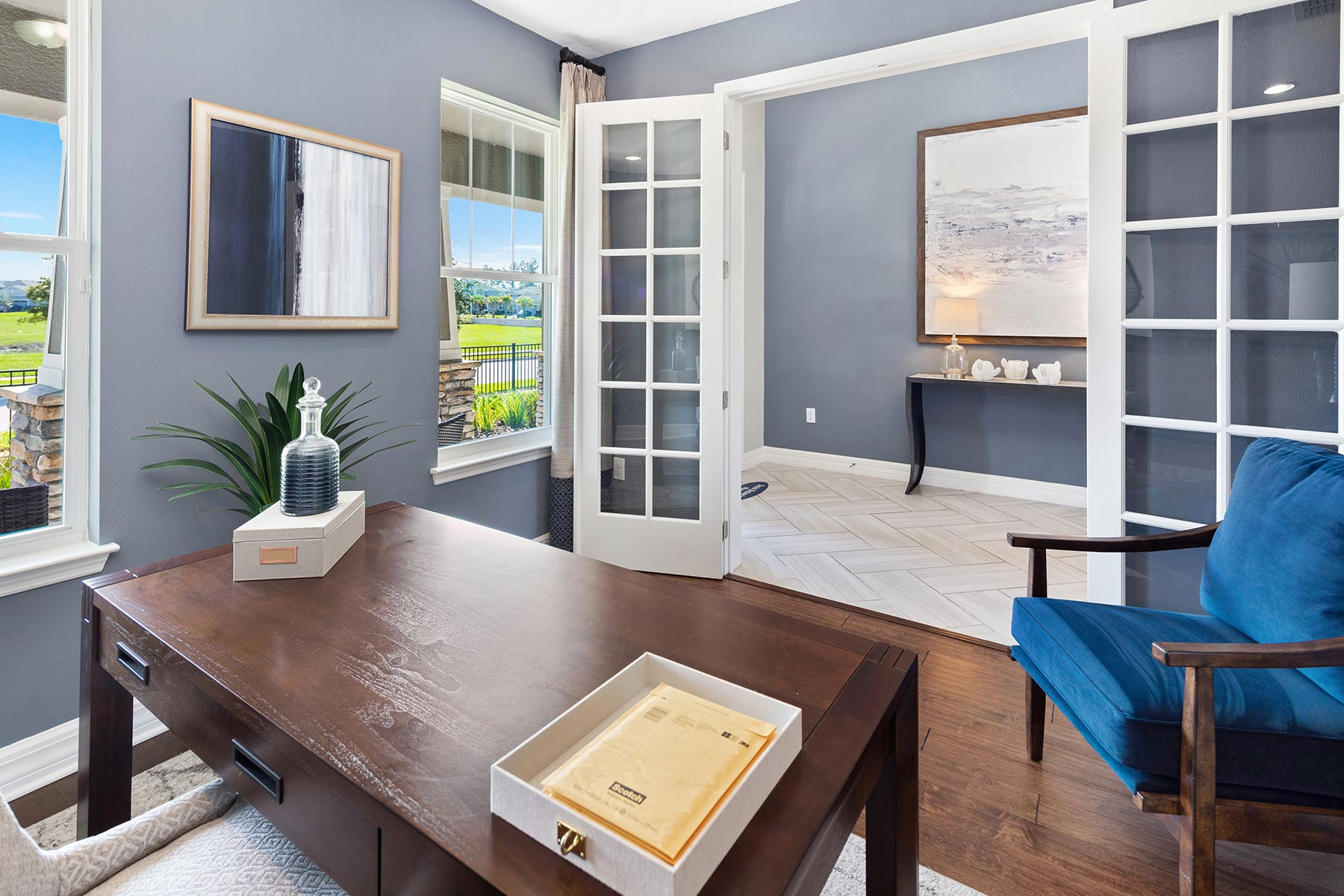 Kensington Plan Study Room at Preserve at Crown Point in Ocoee Florida by Mattamy Homes