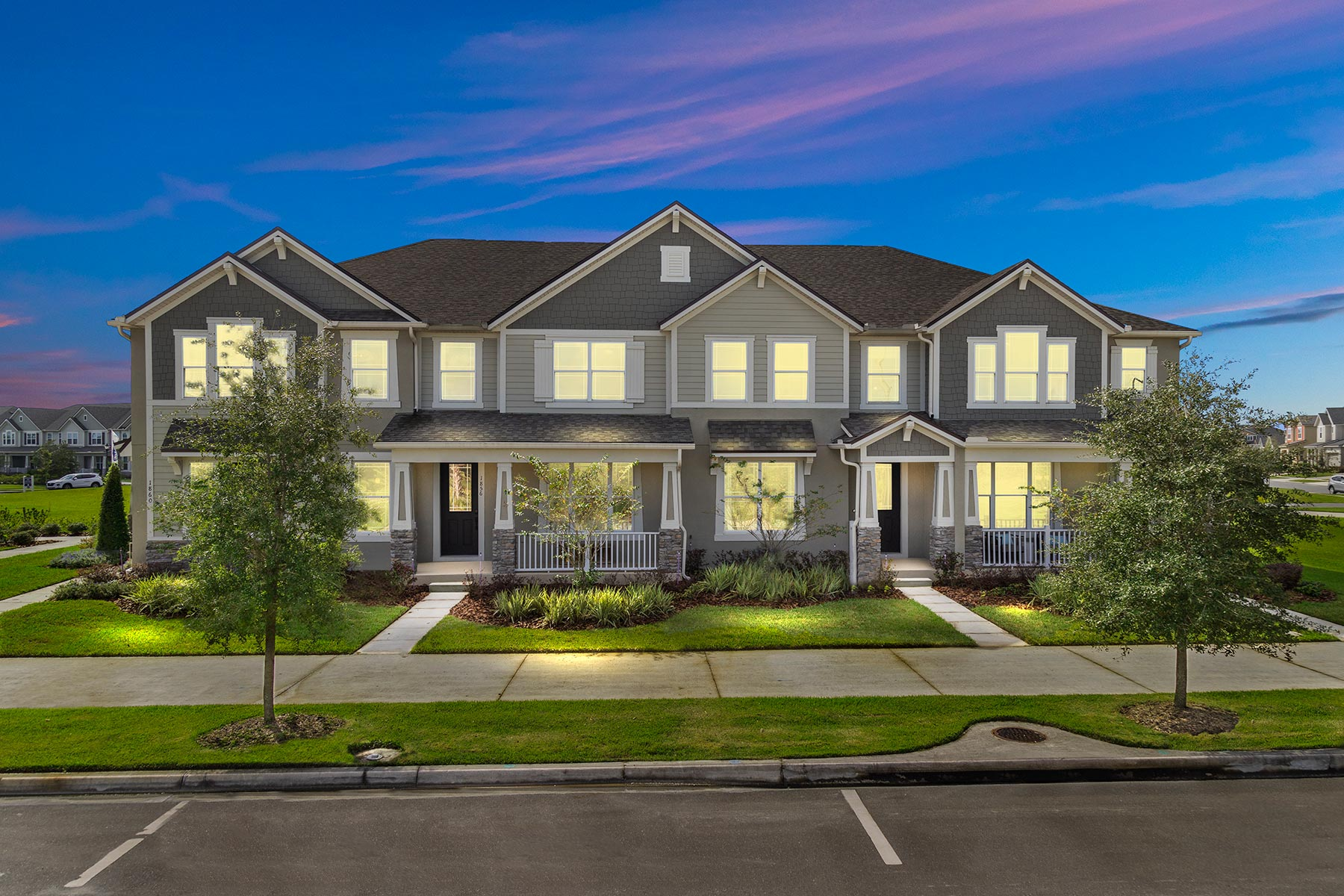 Randal Walk Elevation Front in Orlando Florida by Mattamy Homes