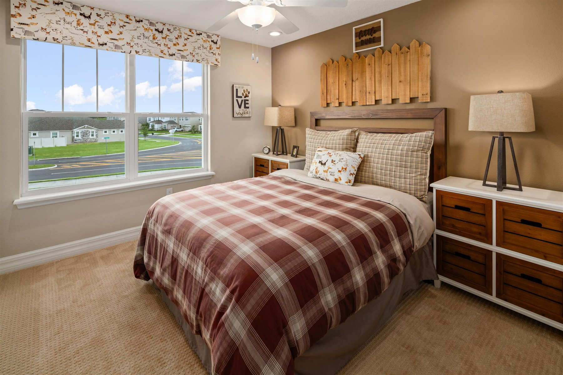 Francesca III Plan Bedroom at Randal Walk in Orlando Florida by Mattamy Homes