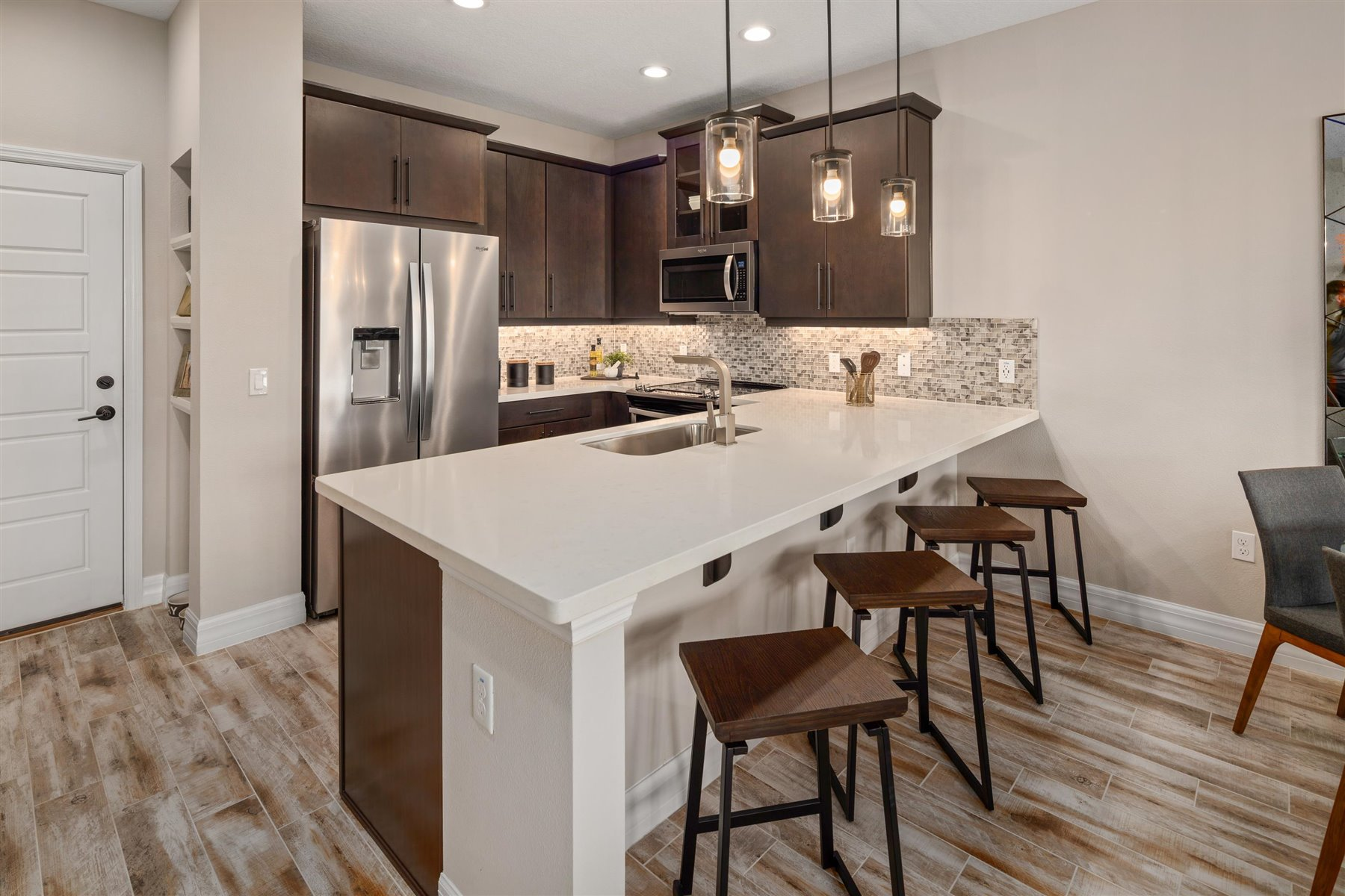 Francesca III Plan Kitchen at Randal Walk in Orlando Florida by Mattamy Homes