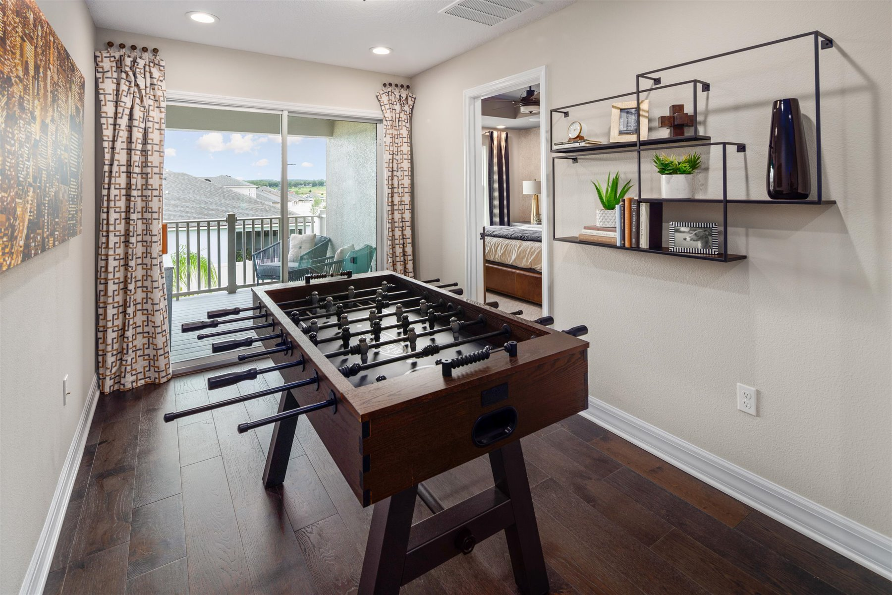 Francesca III Plan Recreation Room at Randal Walk in Orlando Florida by Mattamy Homes