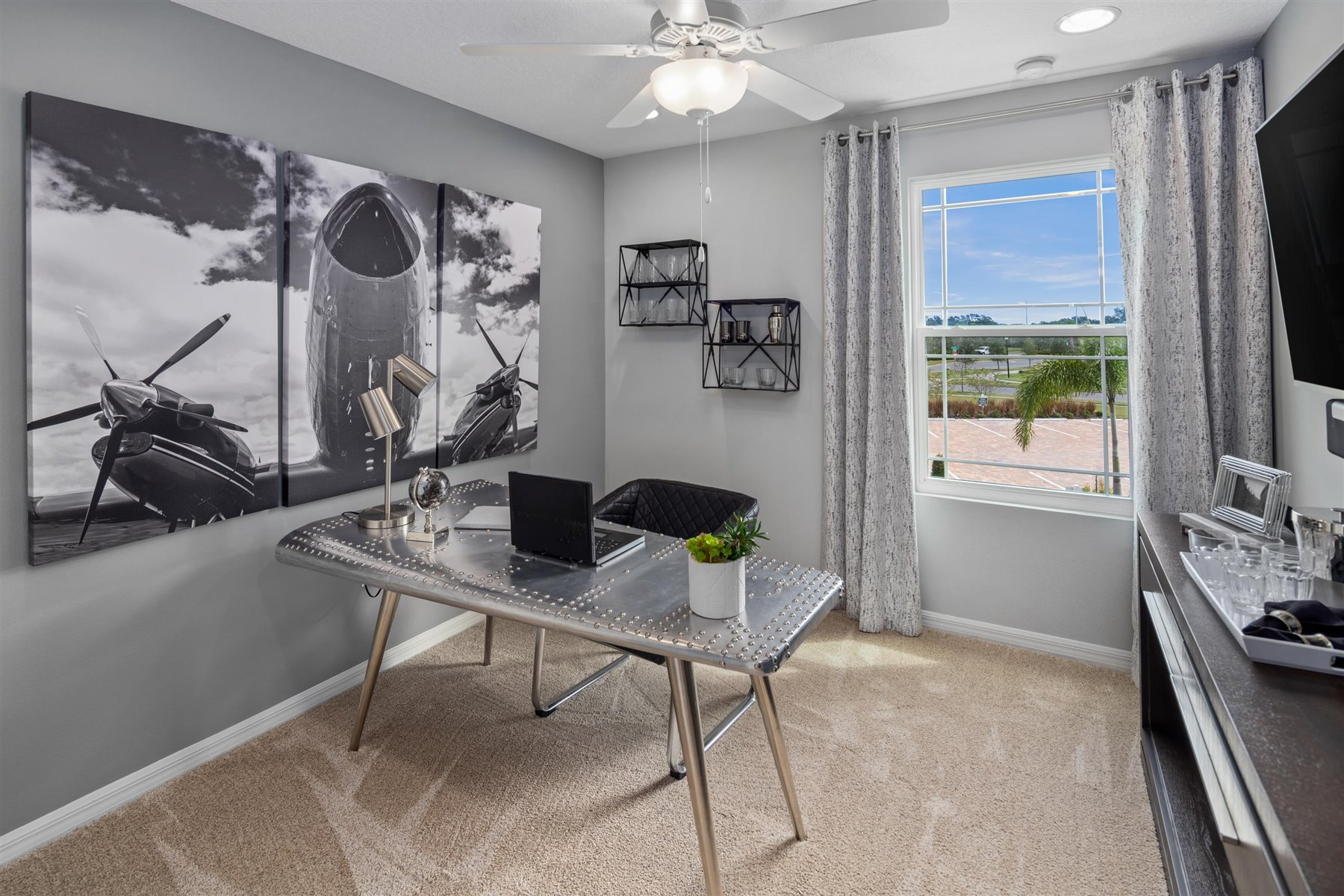 Marabel III Plan Study Room at Randal Walk in Orlando Florida by Mattamy Homes