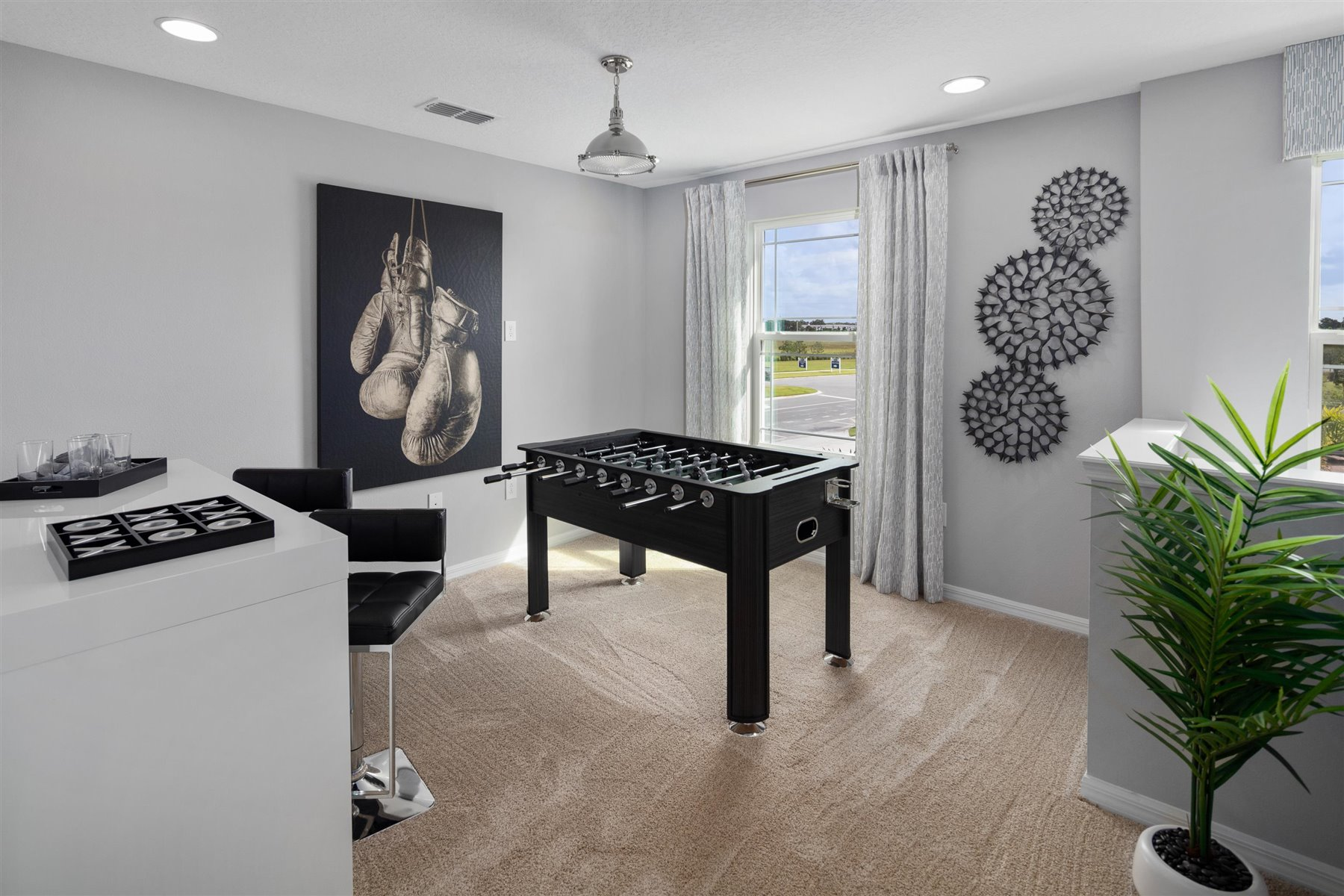 Marabel III Plan Recreation Room at Randal Walk in Orlando Florida by Mattamy Homes