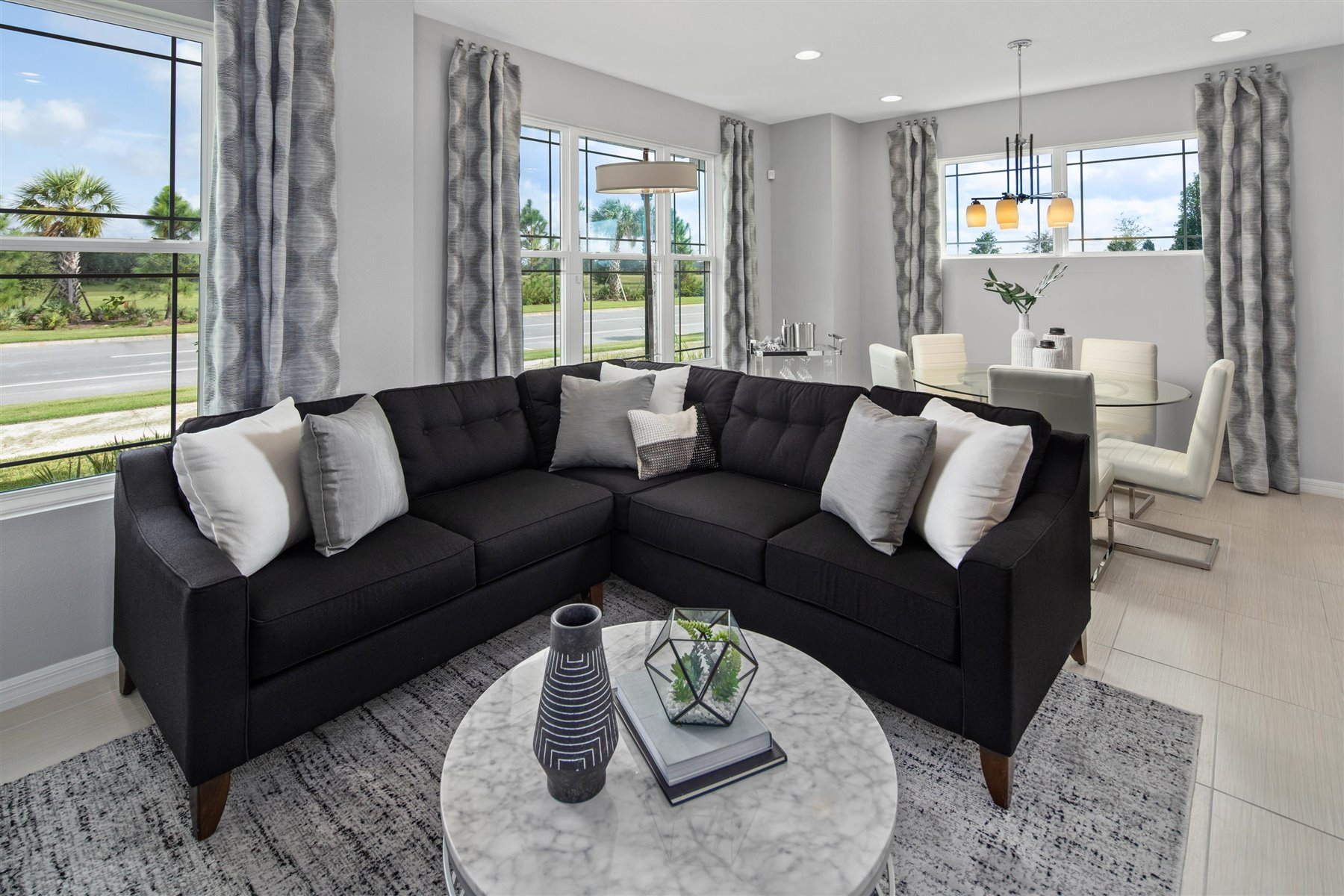 Marabel III Plan Greatroom at Randal Walk in Orlando Florida by Mattamy Homes