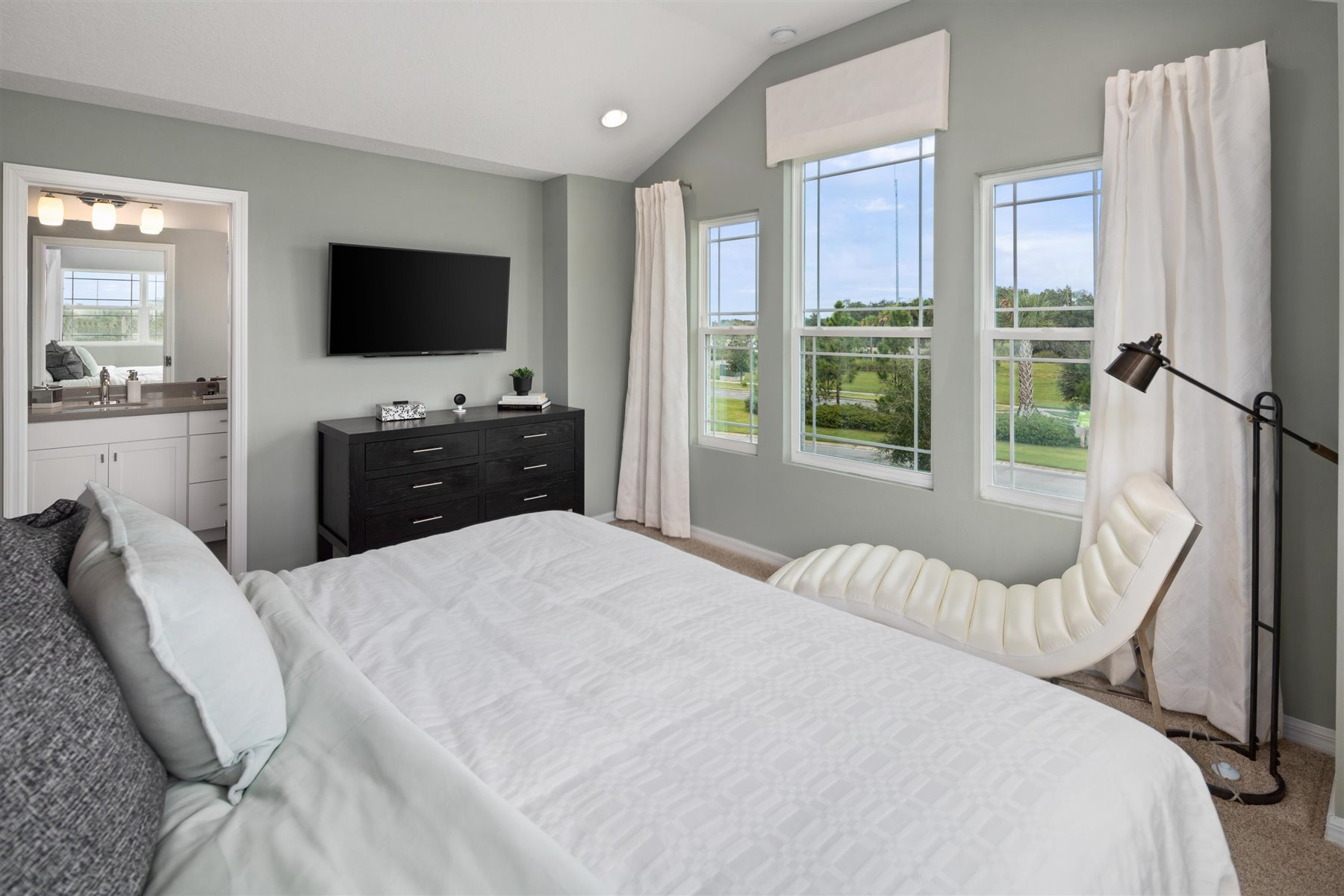 Marabel III Plan Bedroom at Randal Walk in Orlando Florida by Mattamy Homes
