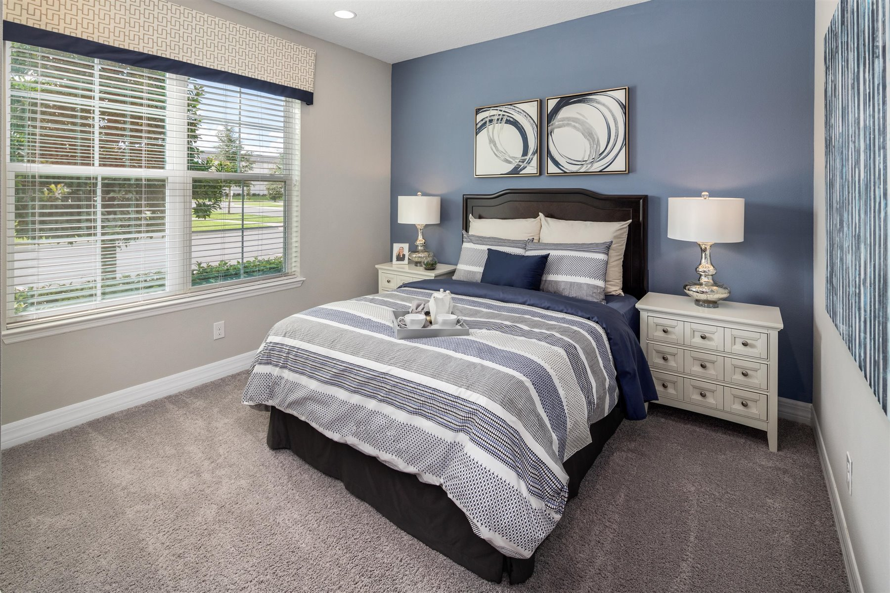 Clearwater Plan Bedroom at Solara Resort in Kissimmee Florida by Mattamy Homes