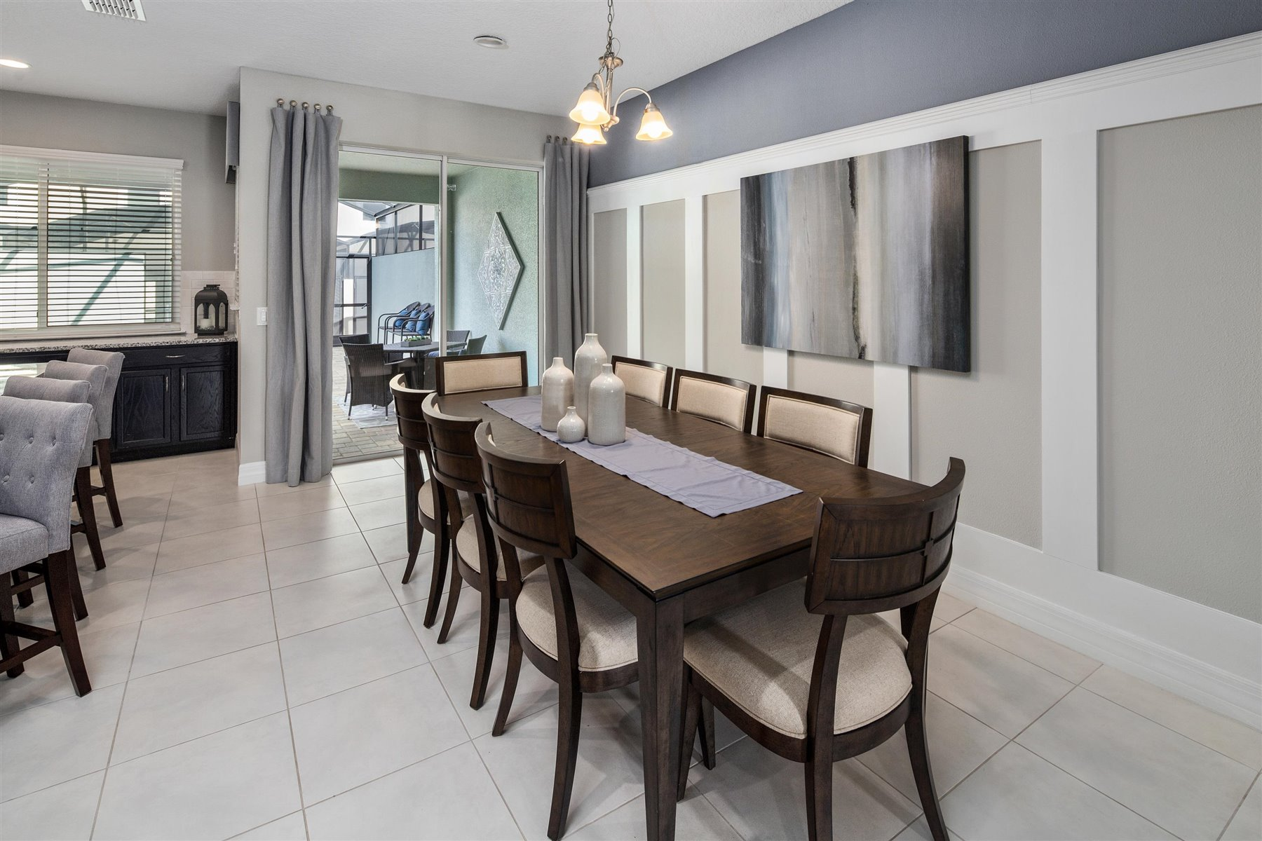 Clearwater Plan Dining at Solara Resort in Kissimmee Florida by Mattamy Homes