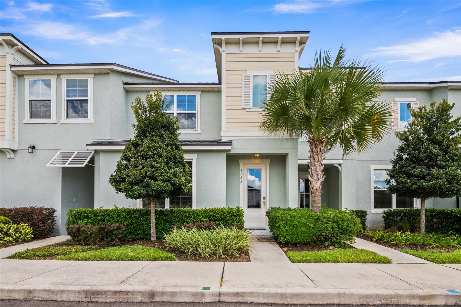 Clearwater Plan Elevation Front at Solara Resort in Kissimmee Florida by Mattamy Homes