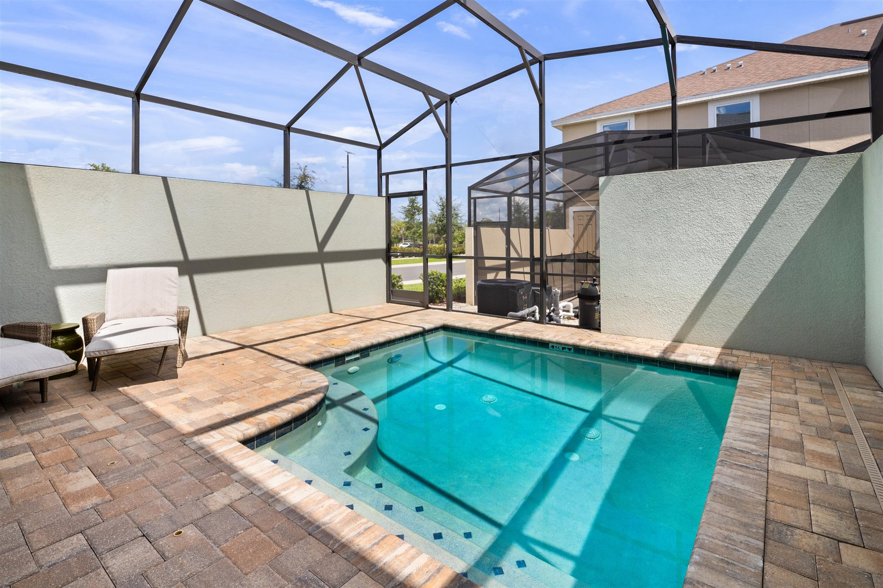 Del Ray Plan WaterFeatures at Solara Resort in Kissimmee Florida by Mattamy Homes