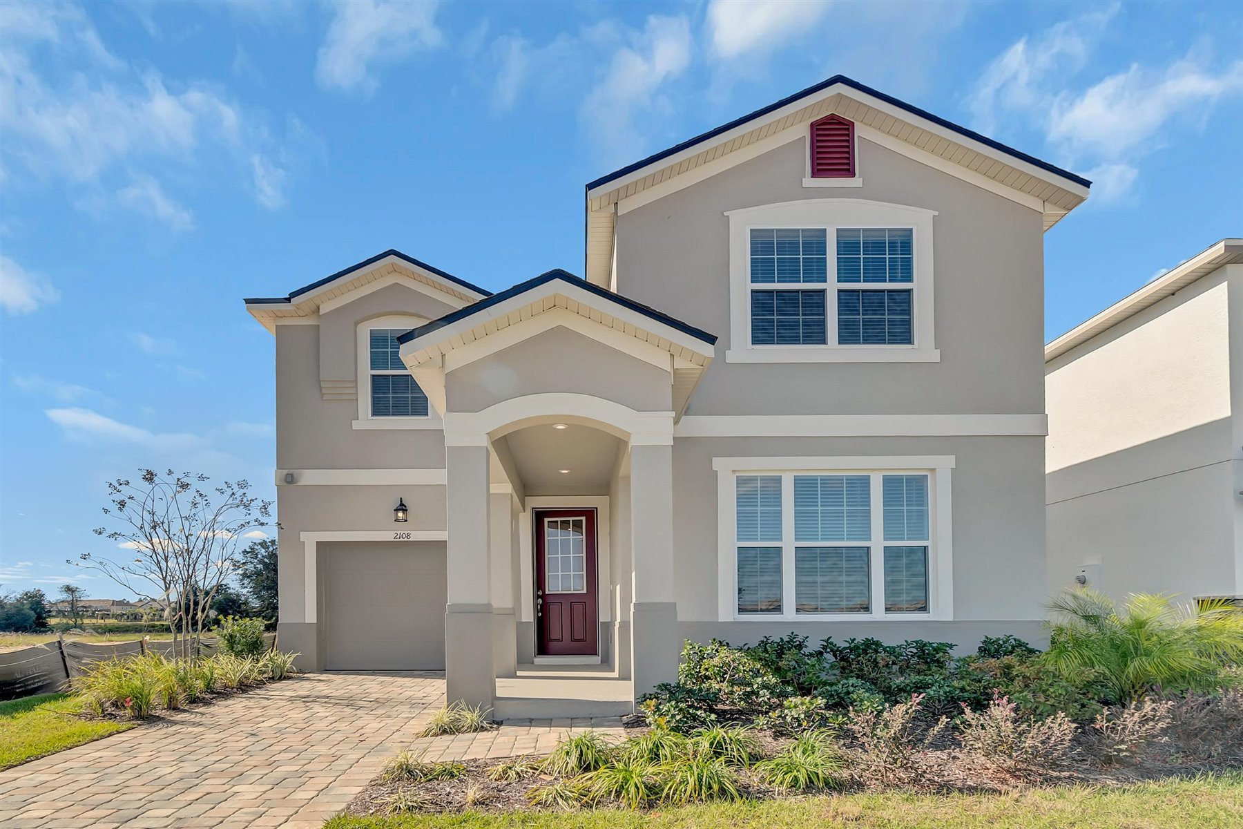 Solara Resort Elevation Front in Kissimmee Florida by Mattamy Homes