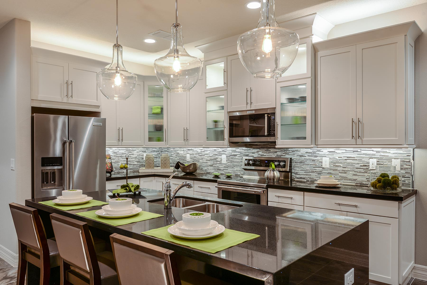 Tapestry Kitchen in Kissimmee Florida by Mattamy Homes