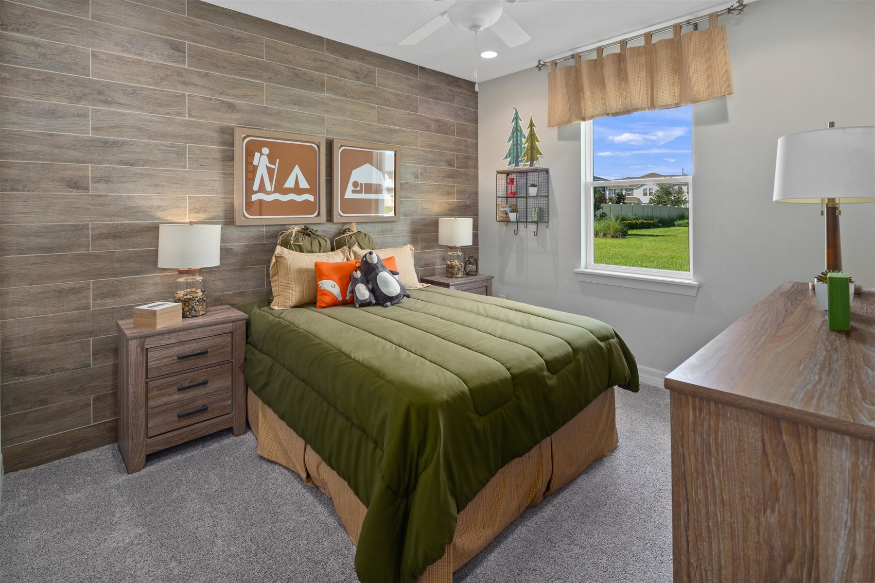 Dominica Plan Bedroom at Tapestry in Kissimmee Florida by Mattamy Homes