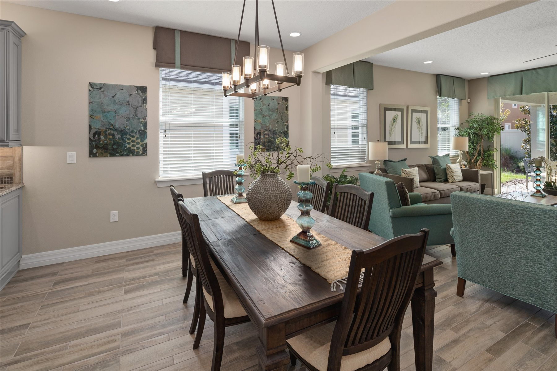 Dominica Plan Dining at Tapestry in Kissimmee Florida by Mattamy Homes
