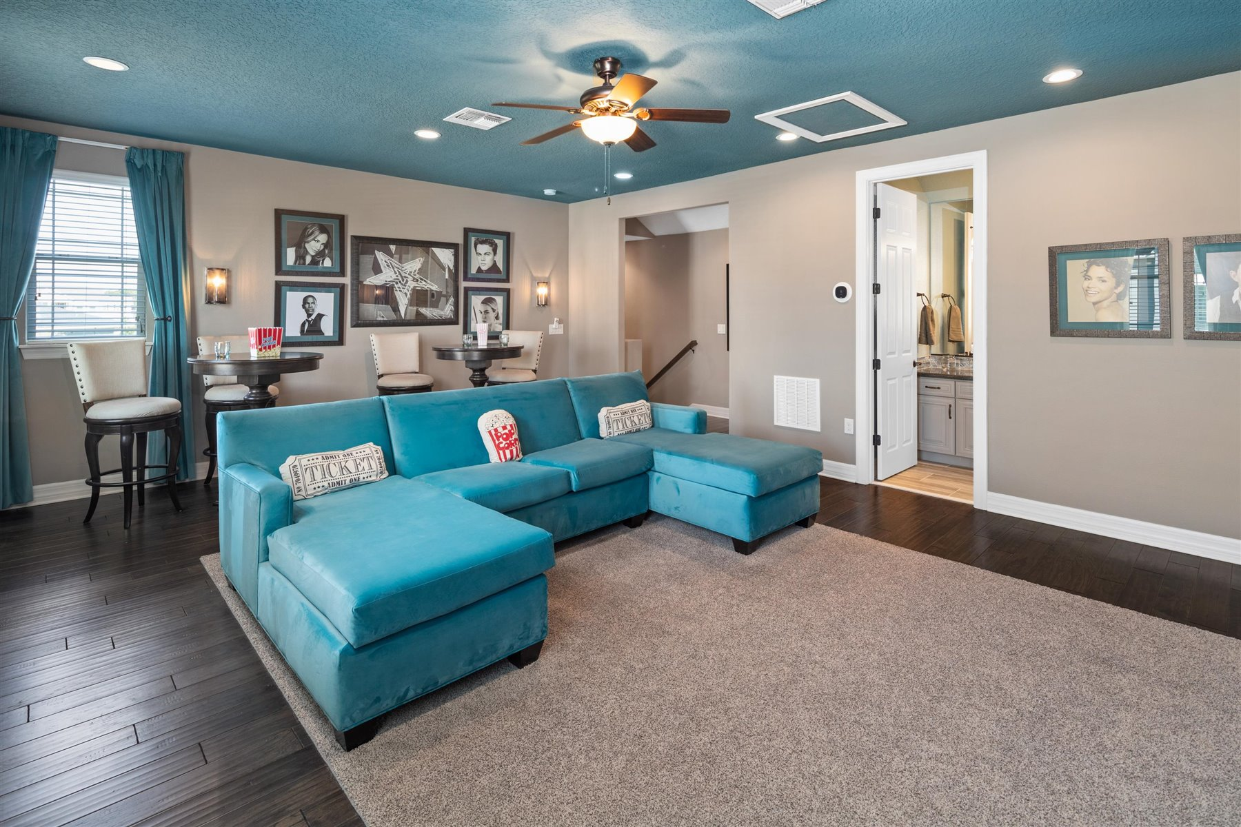 Dominica Plan Loft at Tapestry in Kissimmee Florida by Mattamy Homes