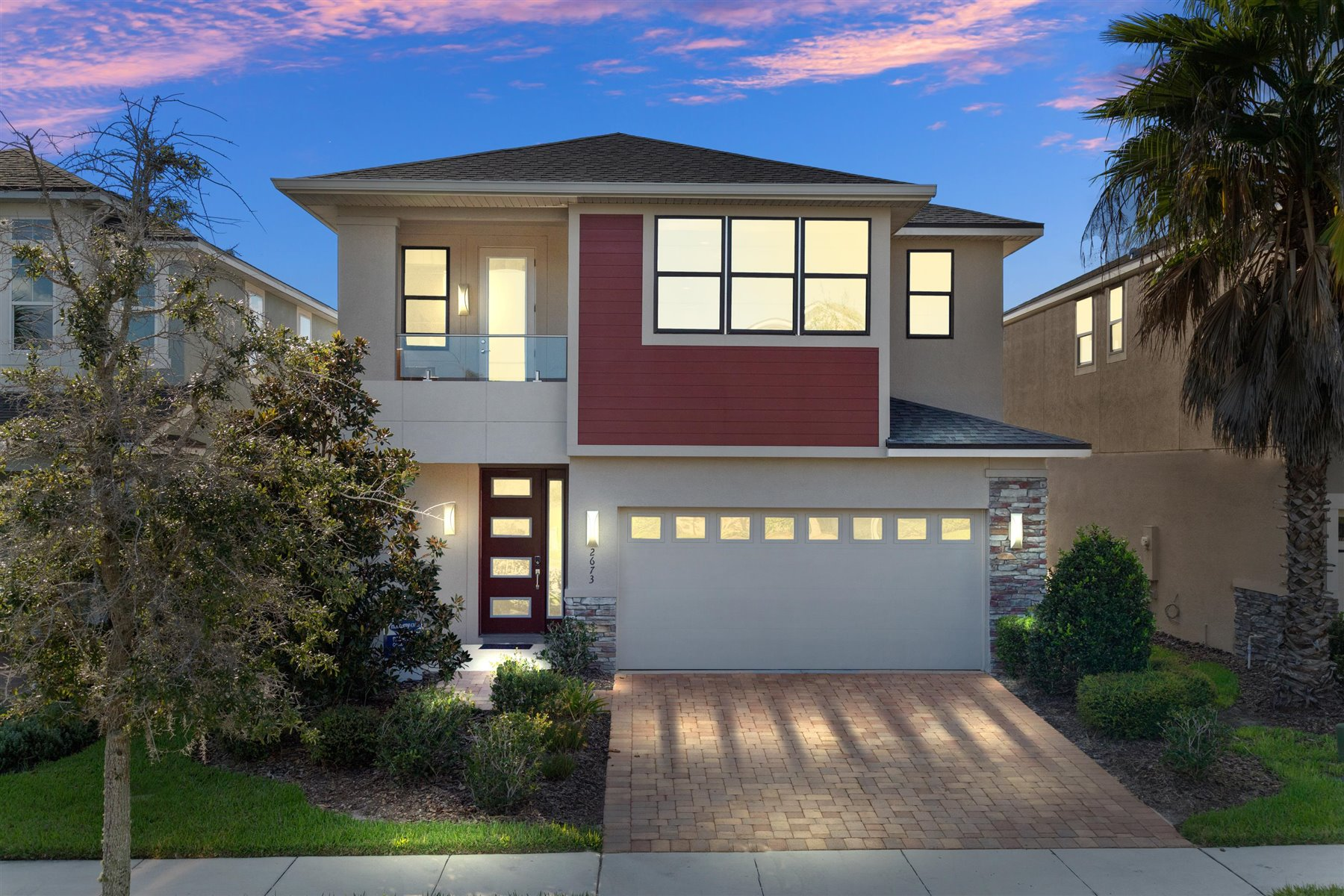 Tapestry Elevation Front in Kissimmee Florida by Mattamy Homes